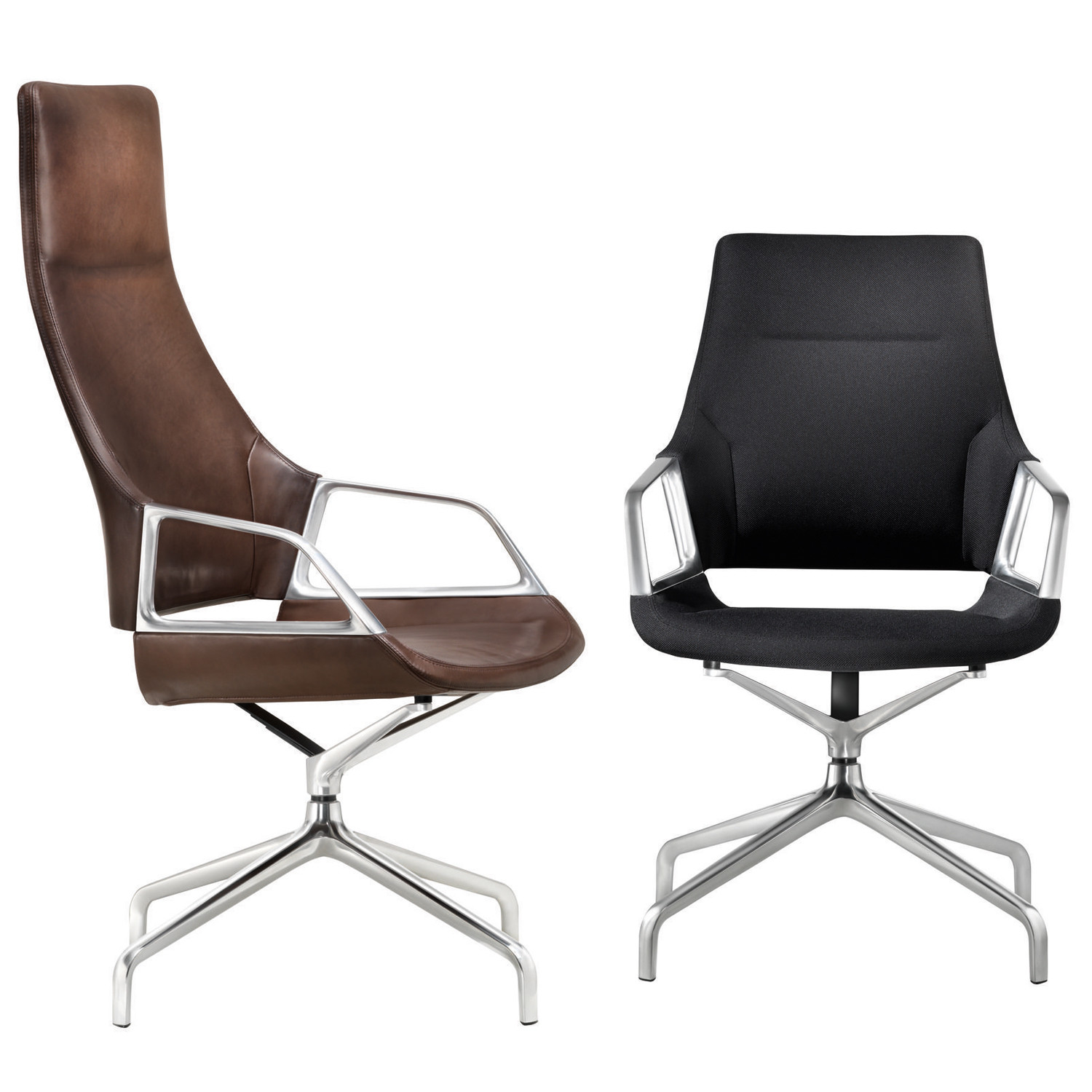 Graph High and Mid Backrest Conference Chairs