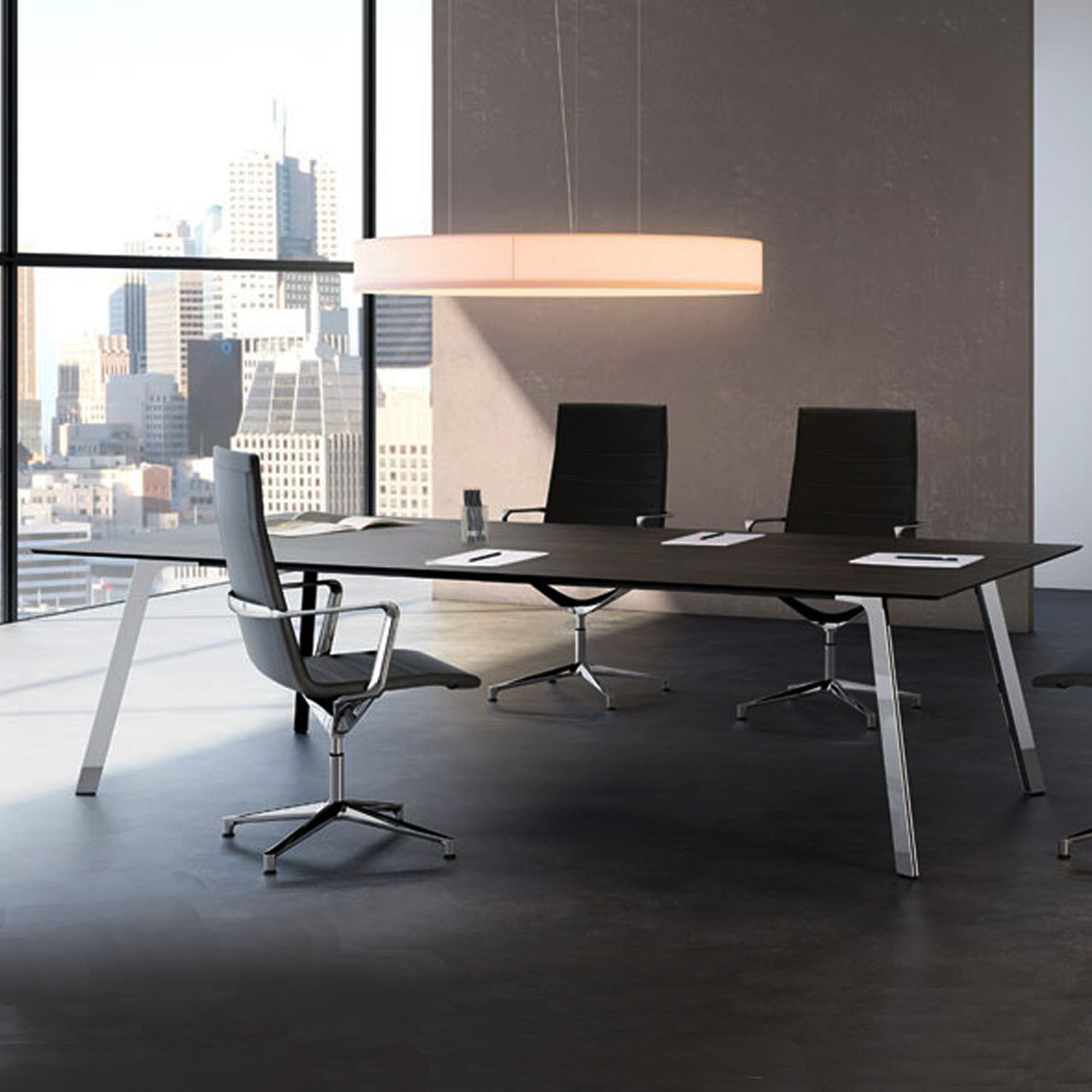 Groove Office Tables by ICF Spa