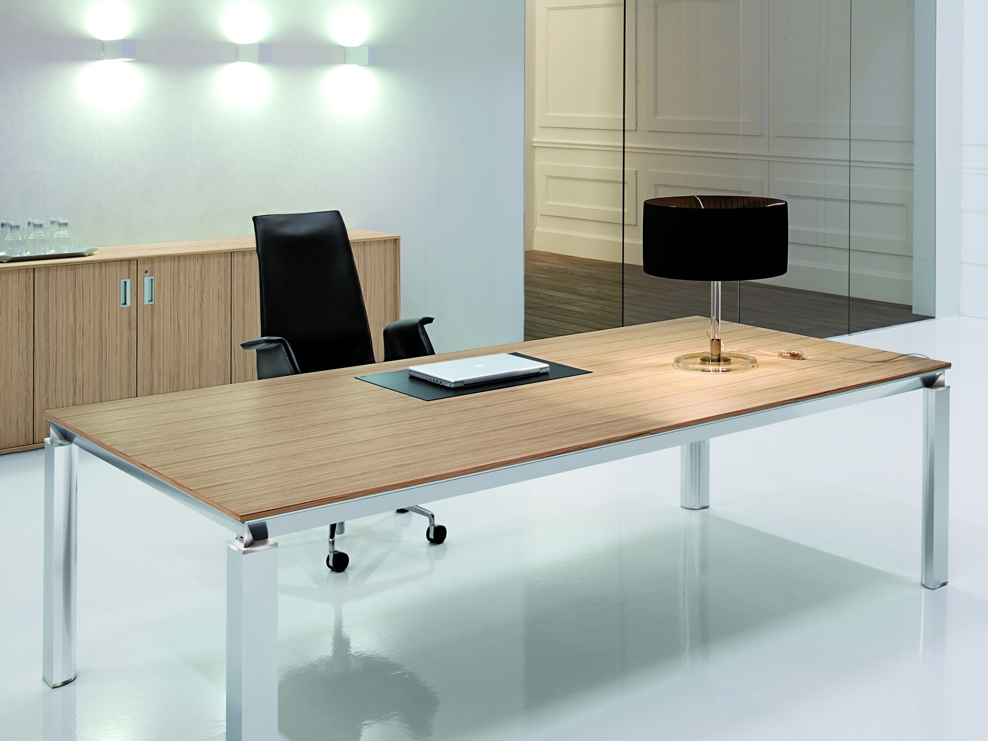 office modern ct desk zebrano collection executive jesper furniture cado