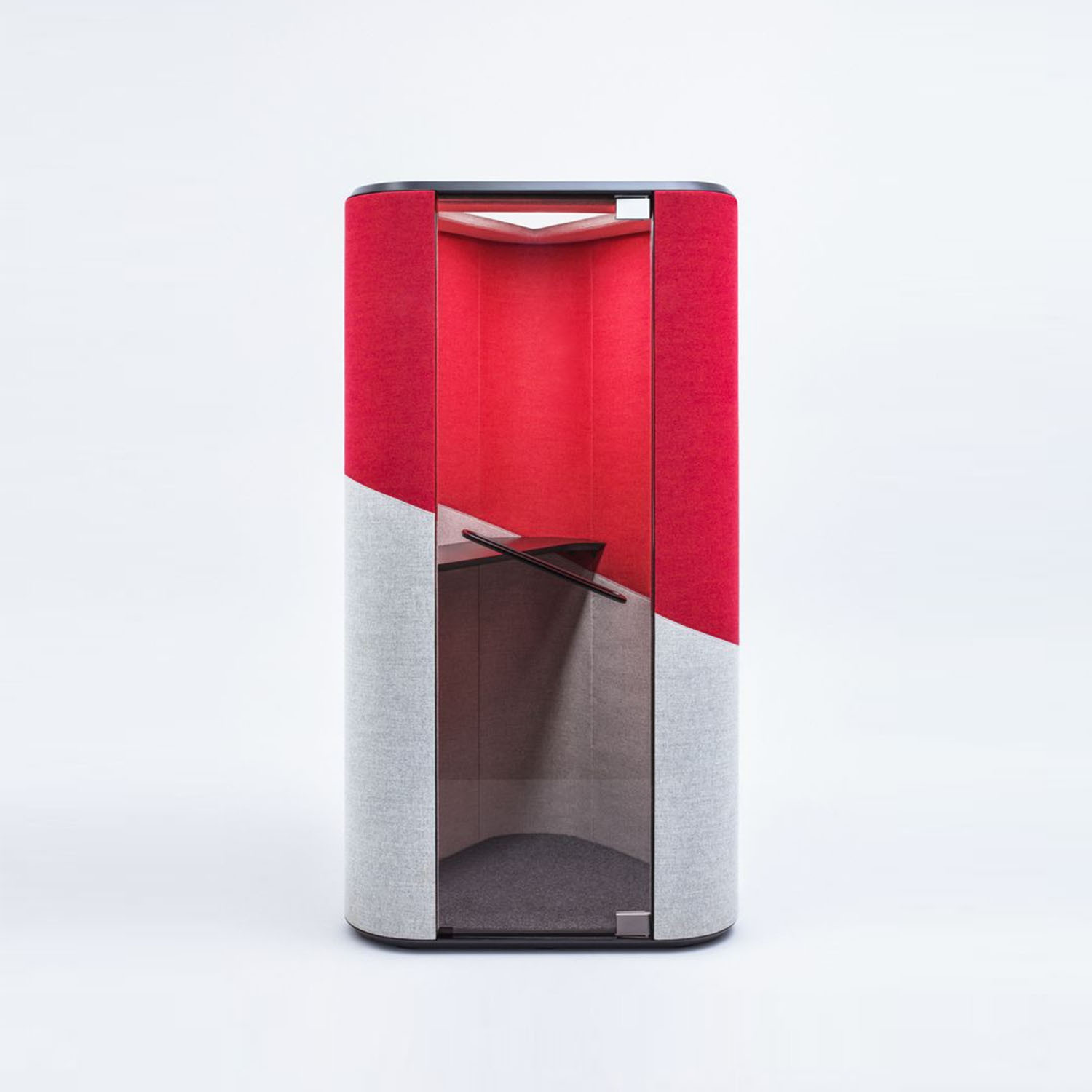 Hana Acoustic Phone Booth Front View