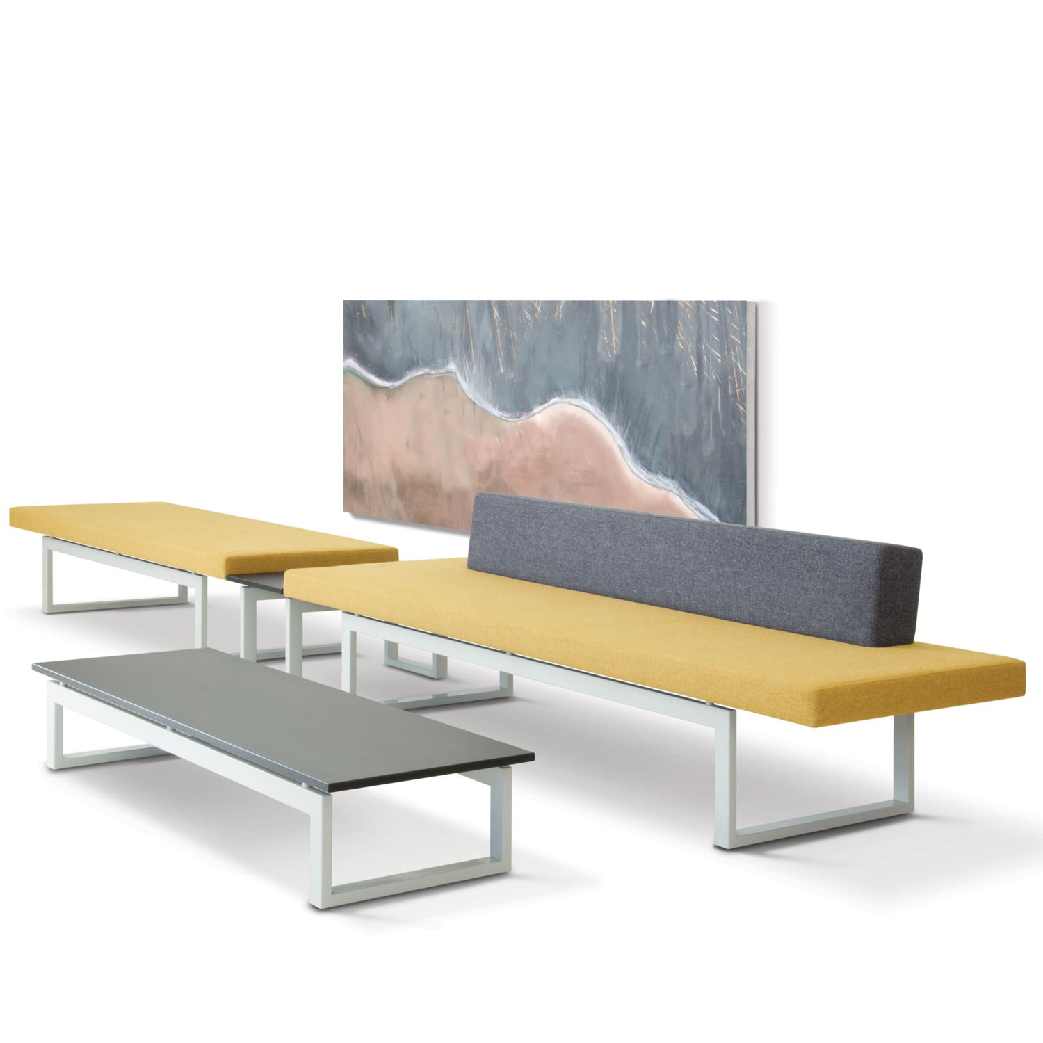 HM106 Bench and Sofa