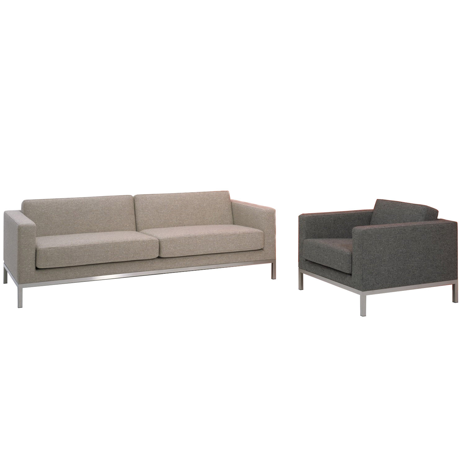 HM26 Sofa and Armchair