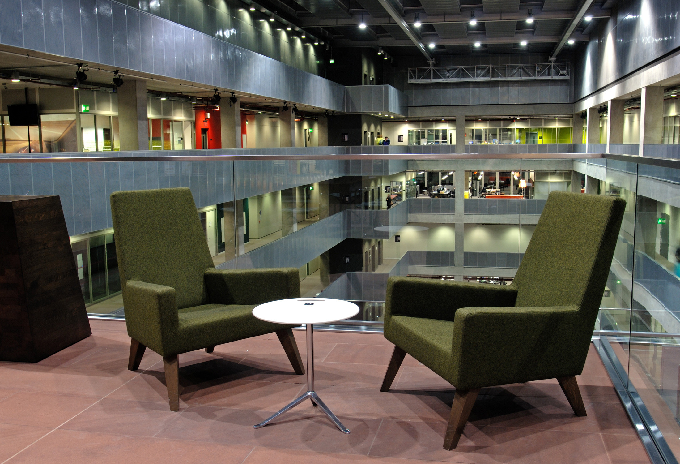 HM44 Armchairs in the BBC