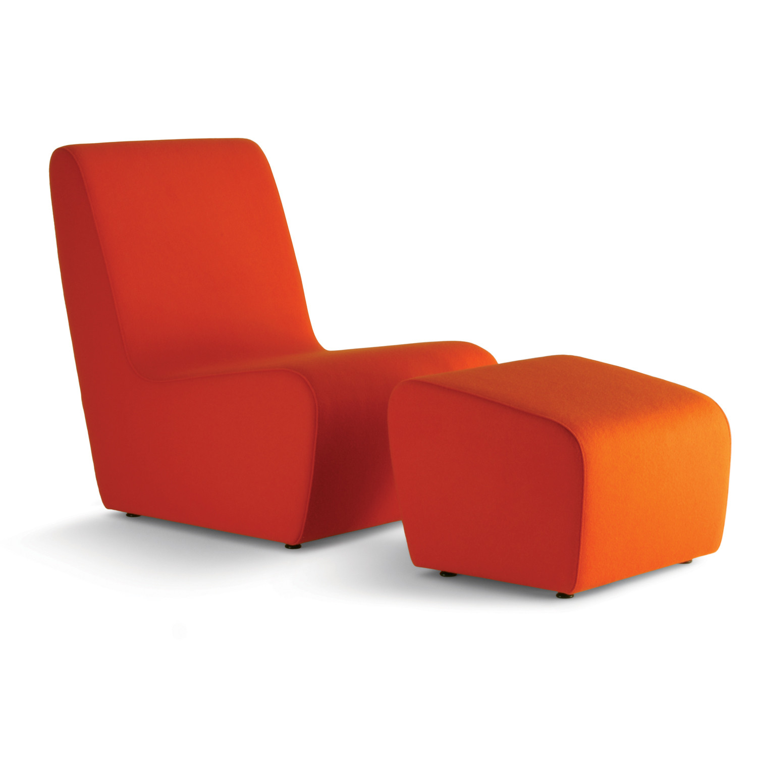 HM55a Chair and HM55h Footstool