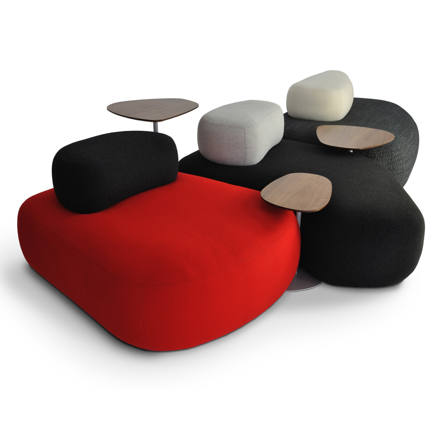 HM63 Pebble Seating and Tables