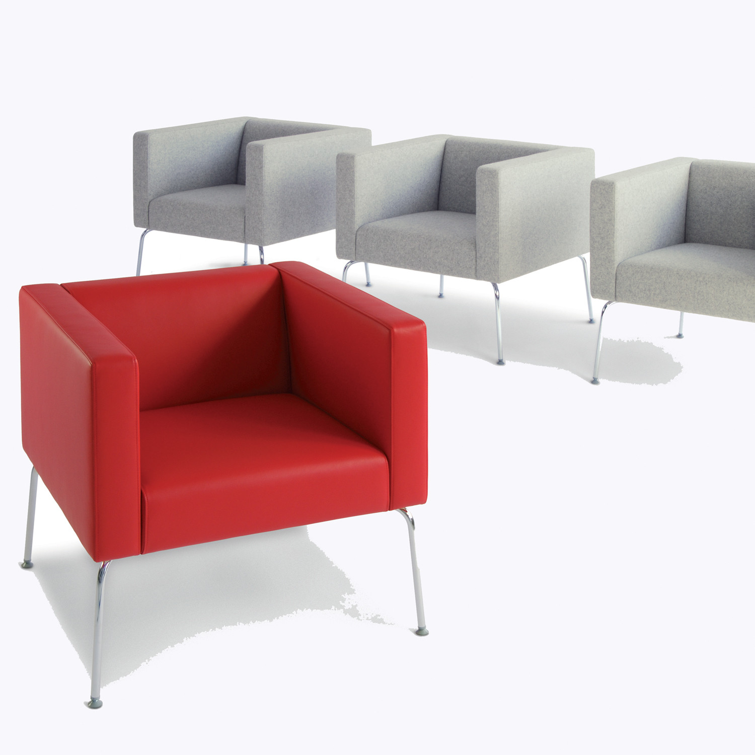 HM67 Compact Armchairs for the Office