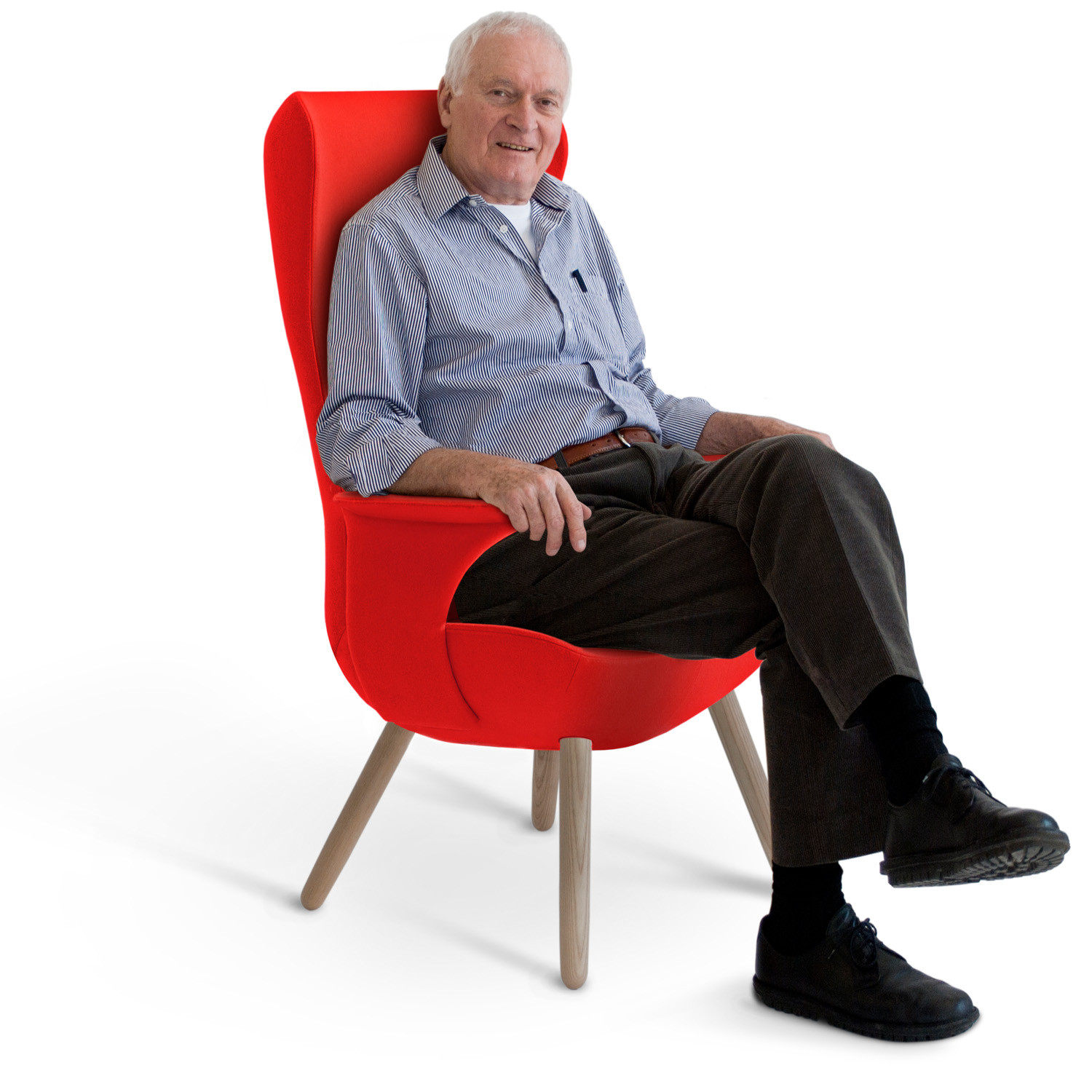HM82 High-Back Chair for the Elderly