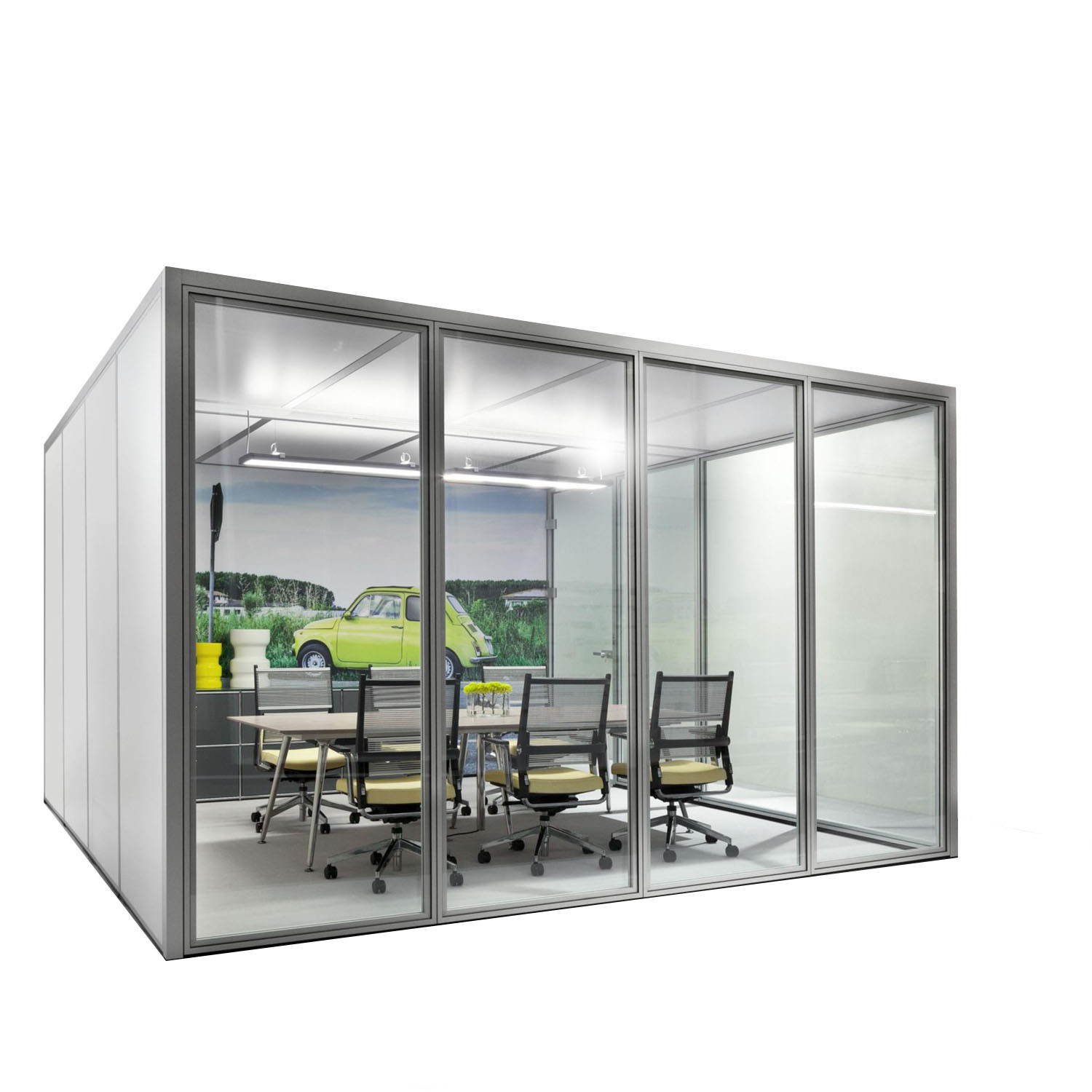 pods office. Human Space Cube Pods Office