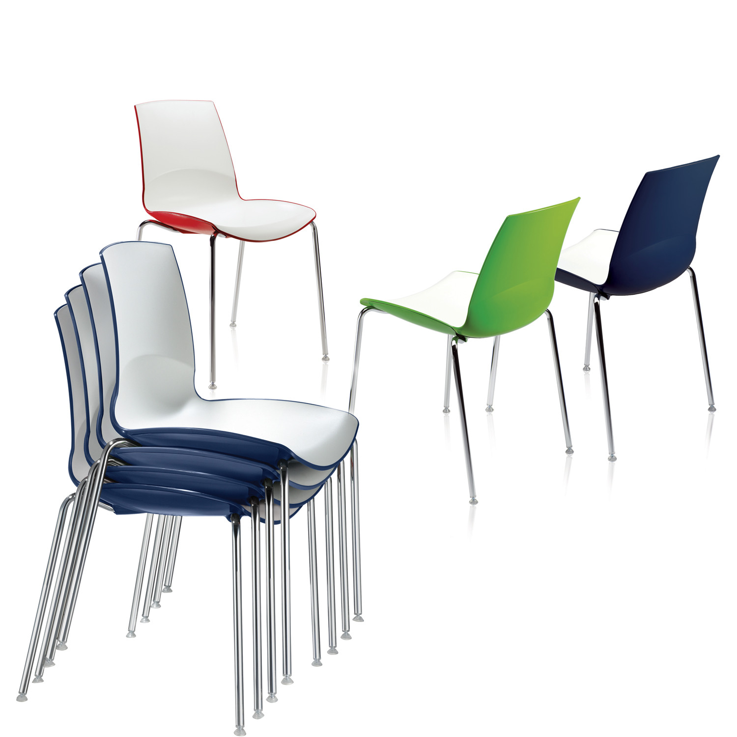 Ice Stacking Chairs