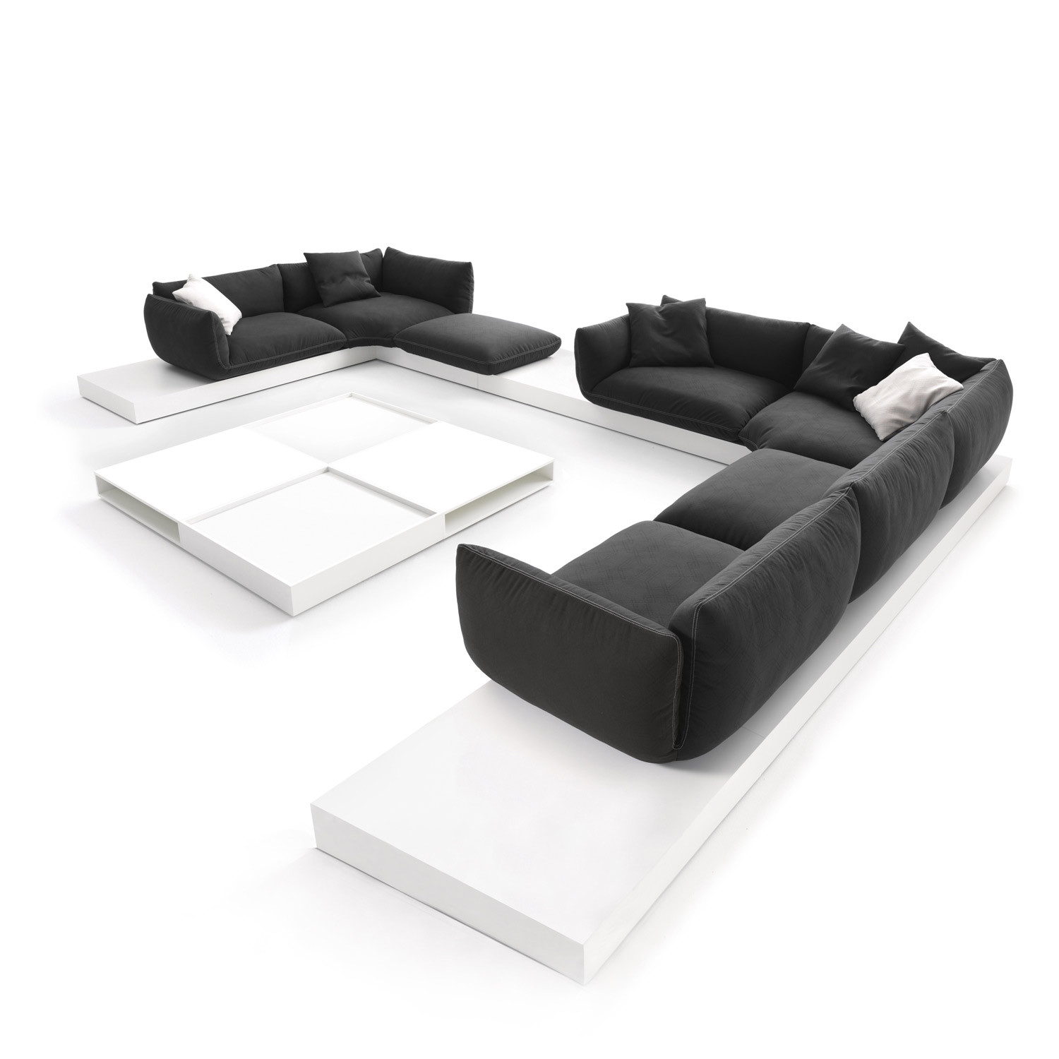 Jalis Modular Floating Sofa