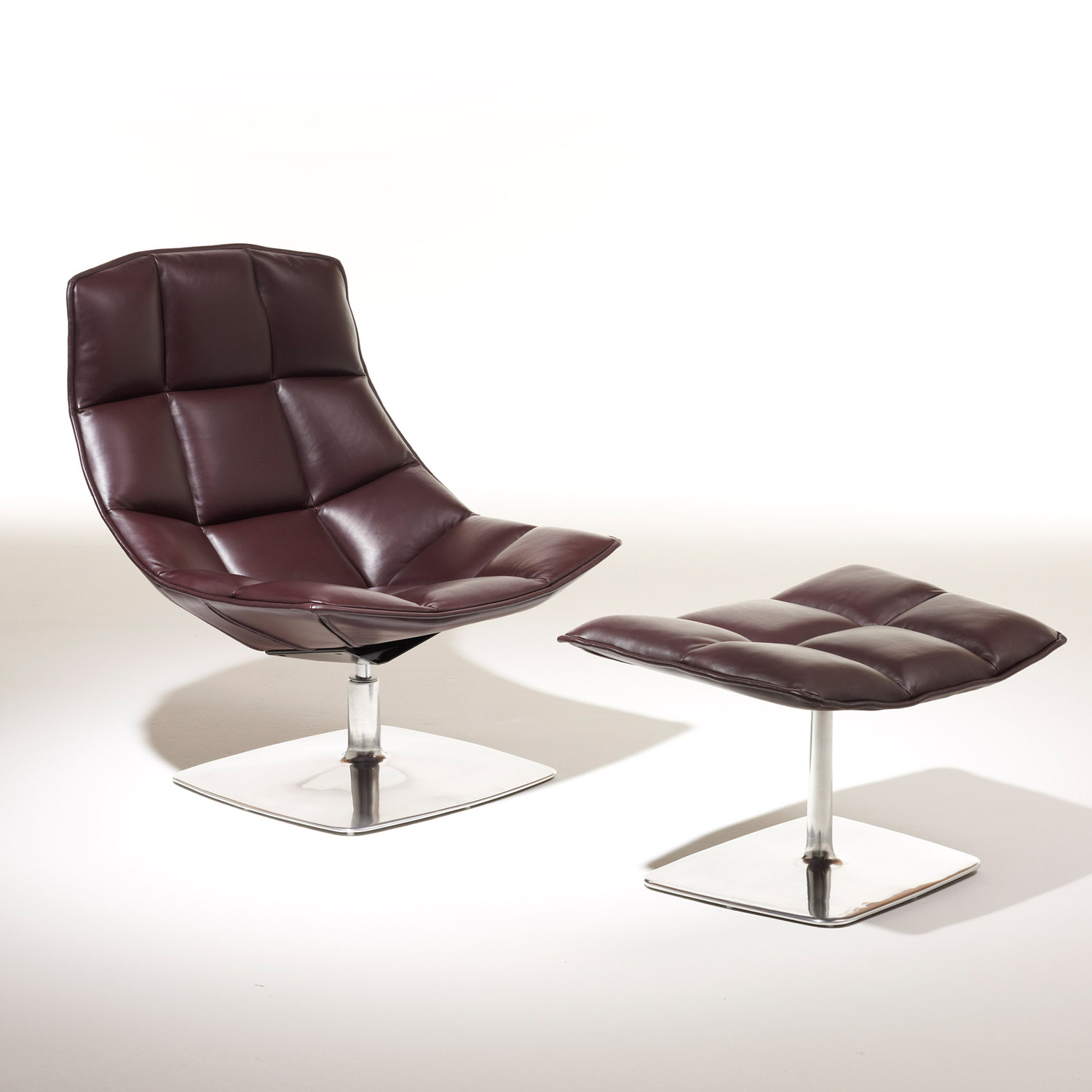 Jehs + Laub Lounge Chair & Ottoman