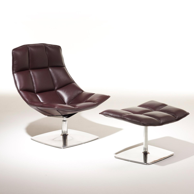Jehs + Laub Lounge Chair & Ottoman