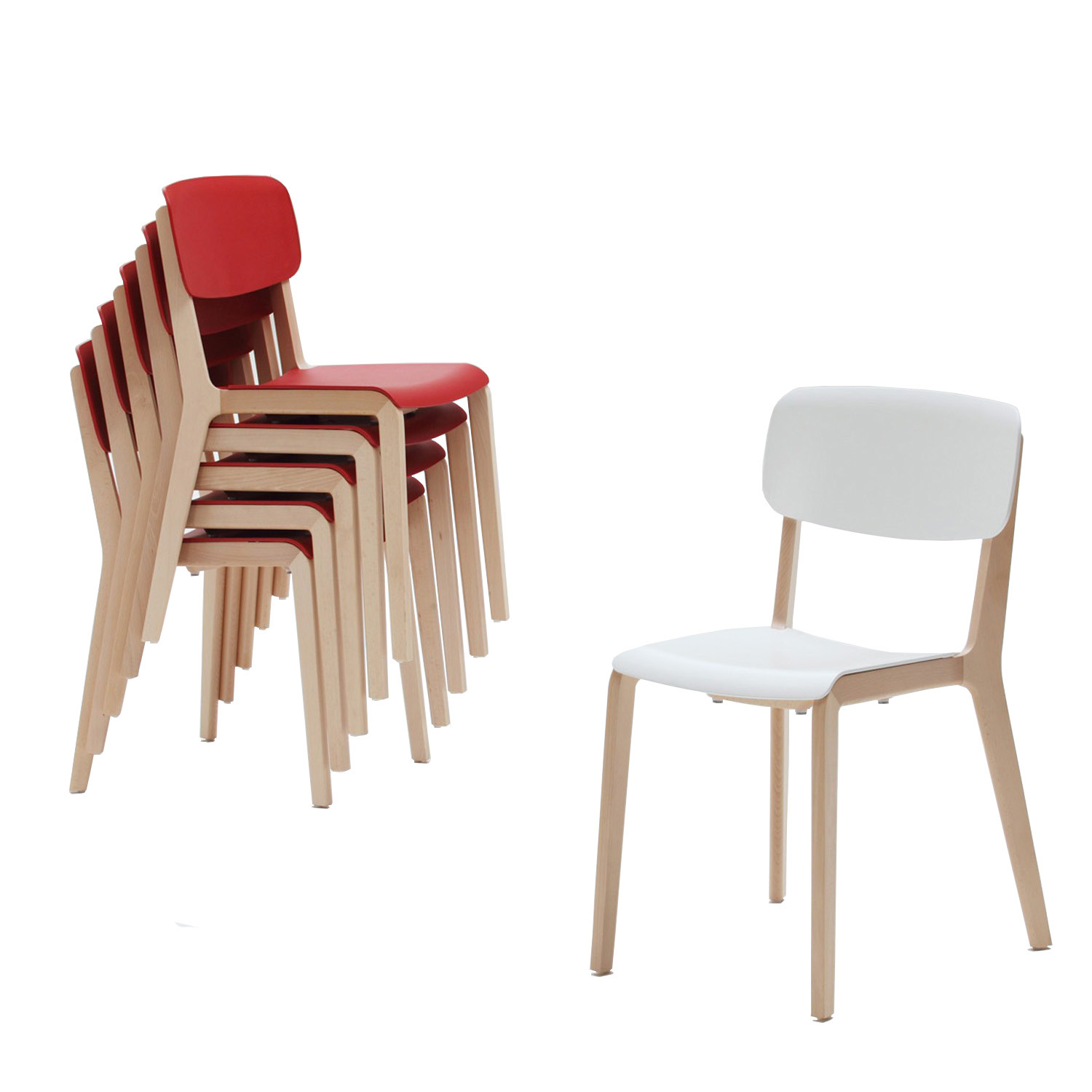Chorus Jonty Stacking Chairs