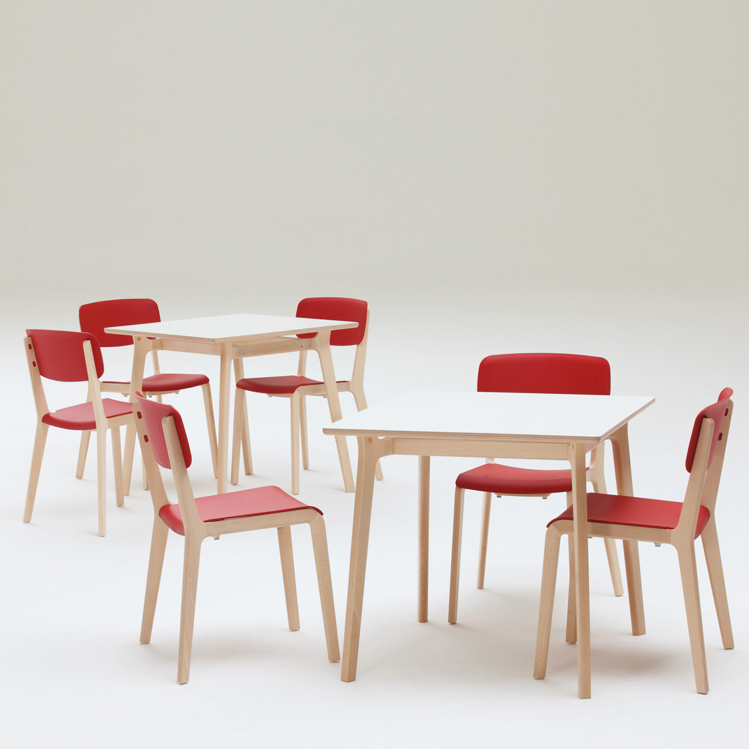 Jonty Cafe Tables + Jonty Cafe Chairs
