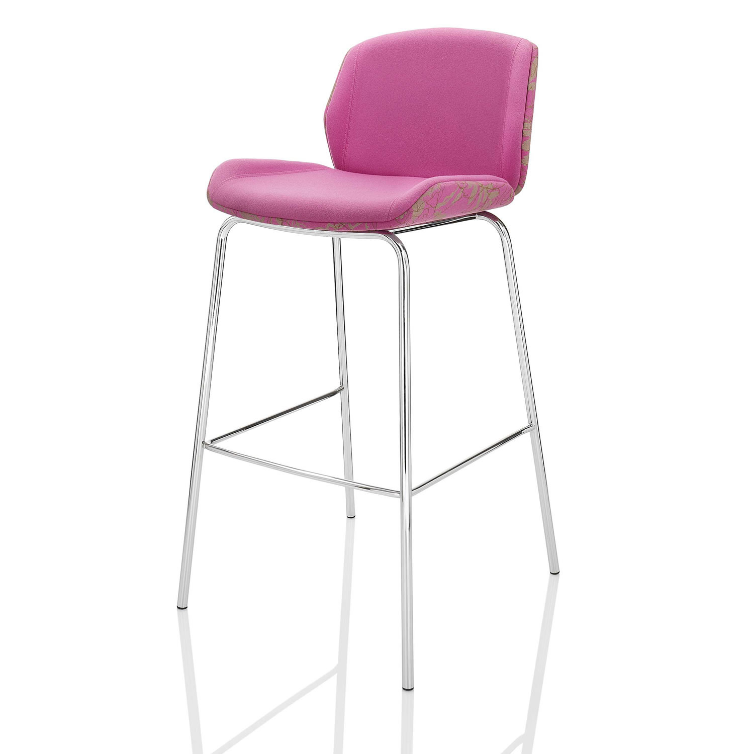 Kruze Bar Stool with Backrest