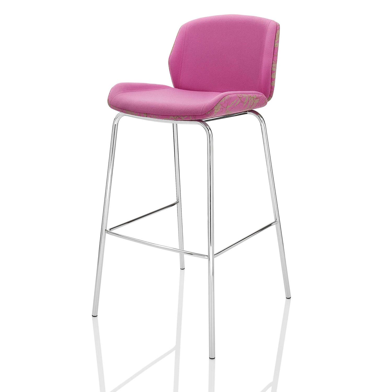 Kruze Bar Stool with Backrest