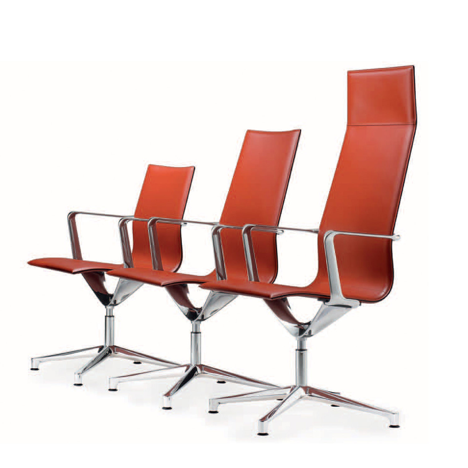 Kuna Leather Meeting Chairs