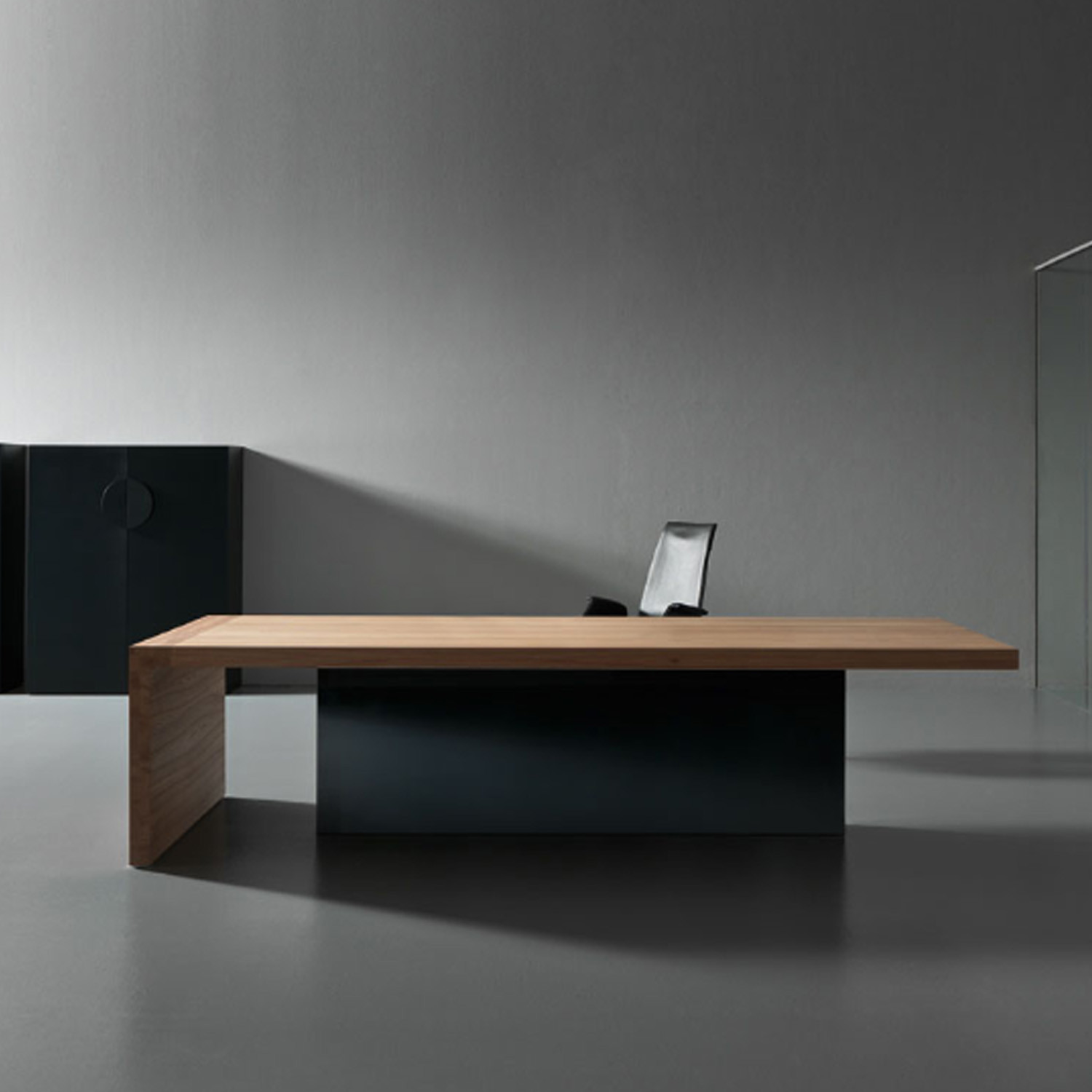 Kyo Olmo Executive Desk by Apres