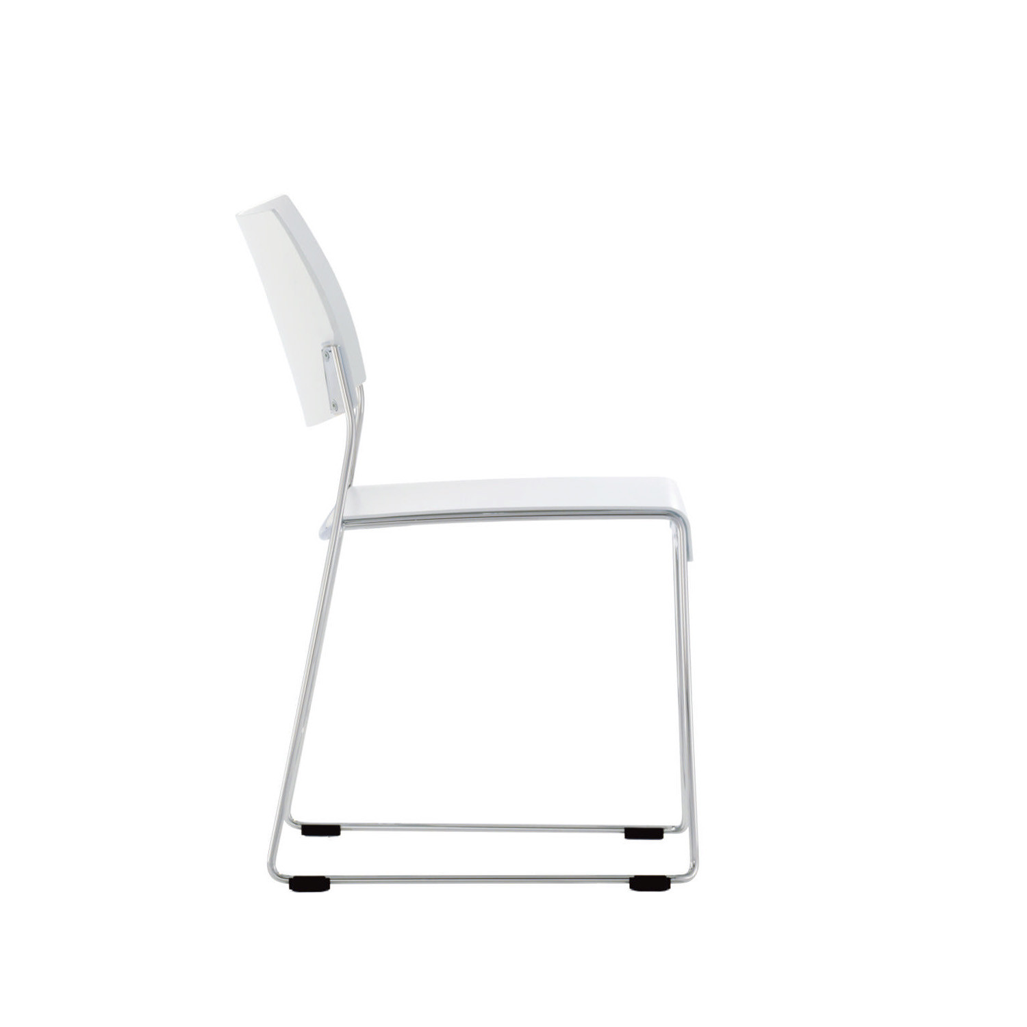 Linos High Density Stacking Sled Base Chair