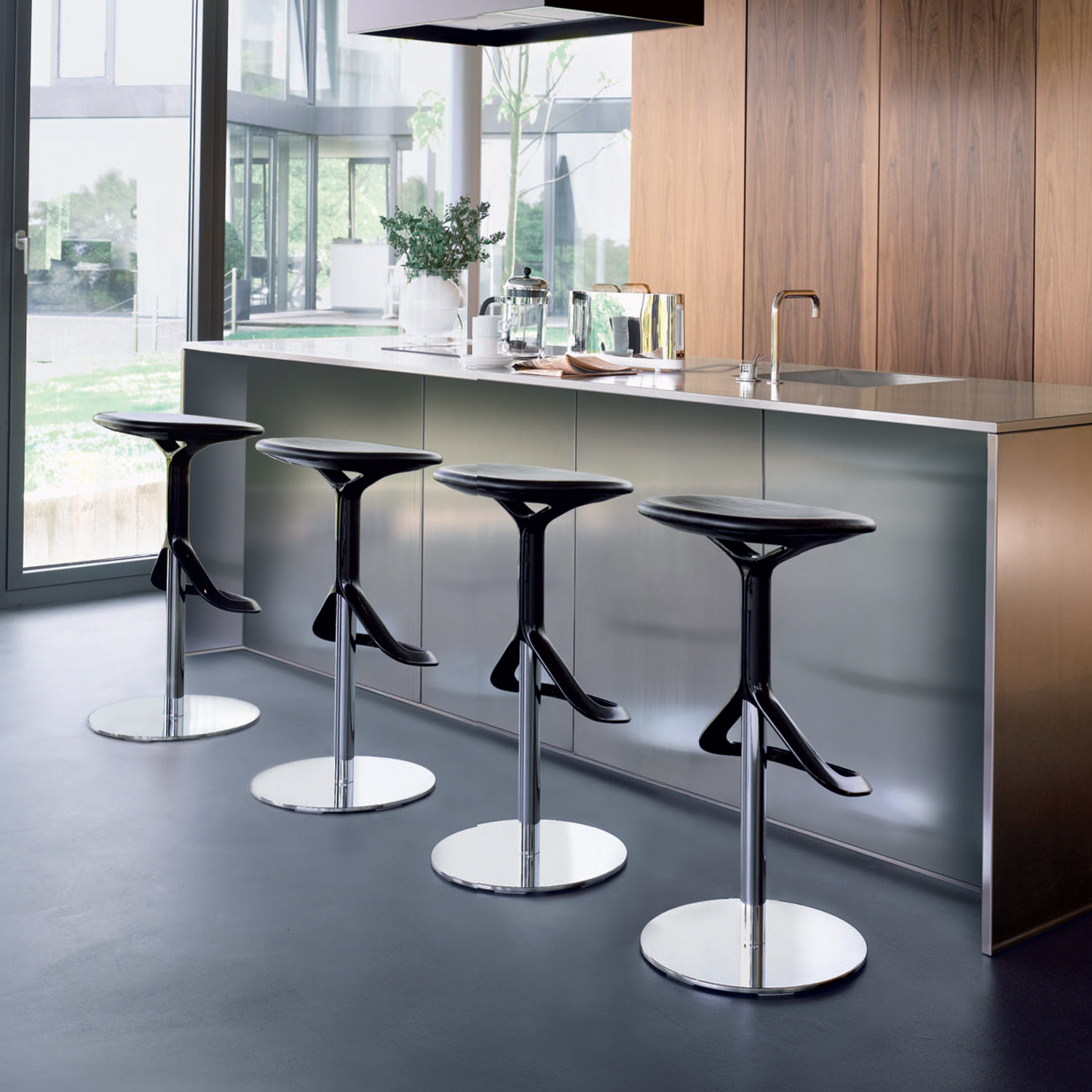 Contemporary Bar Stools ~ Lox bar stool contemporary barstools apres furniture