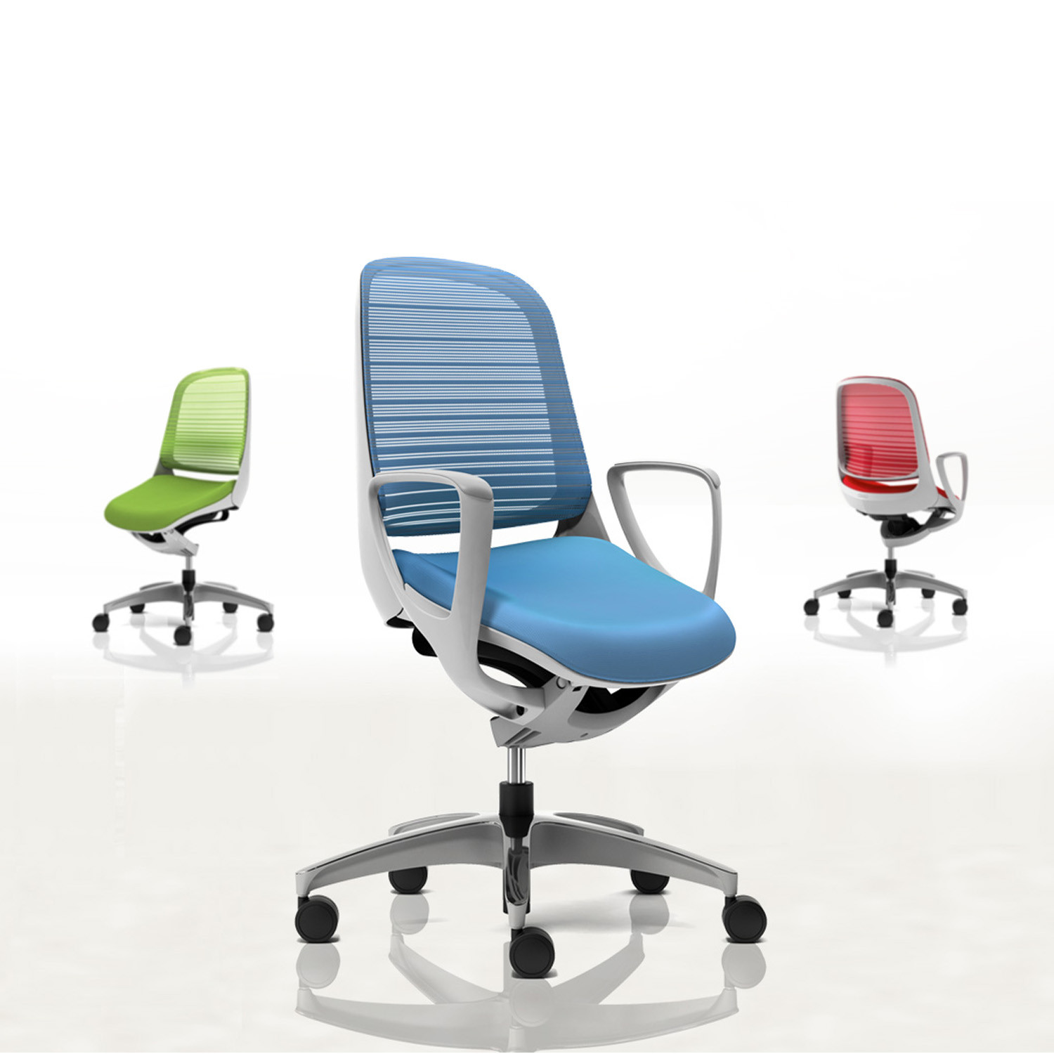 Luce Task Chairs by Okamura