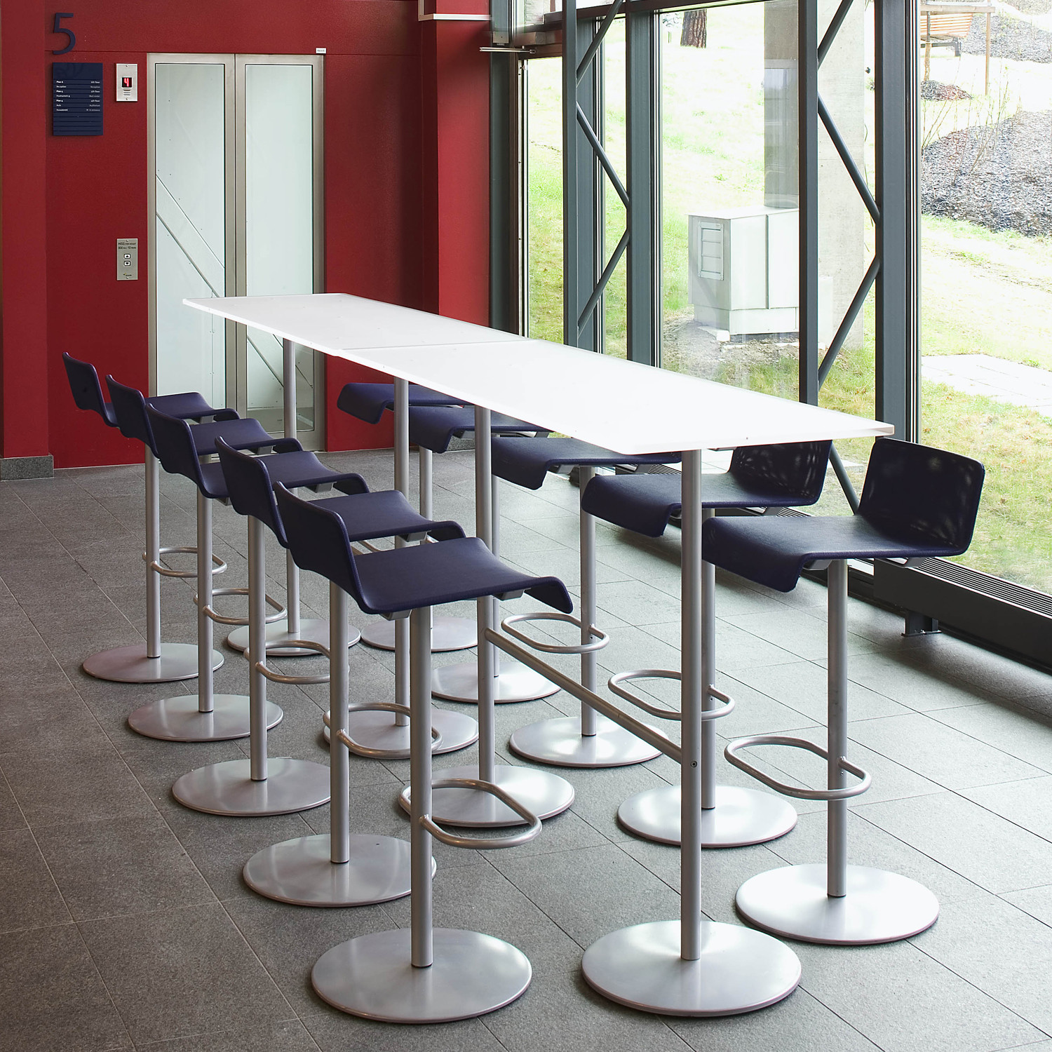 Millibar Barstools and Millibar Bar Height Table