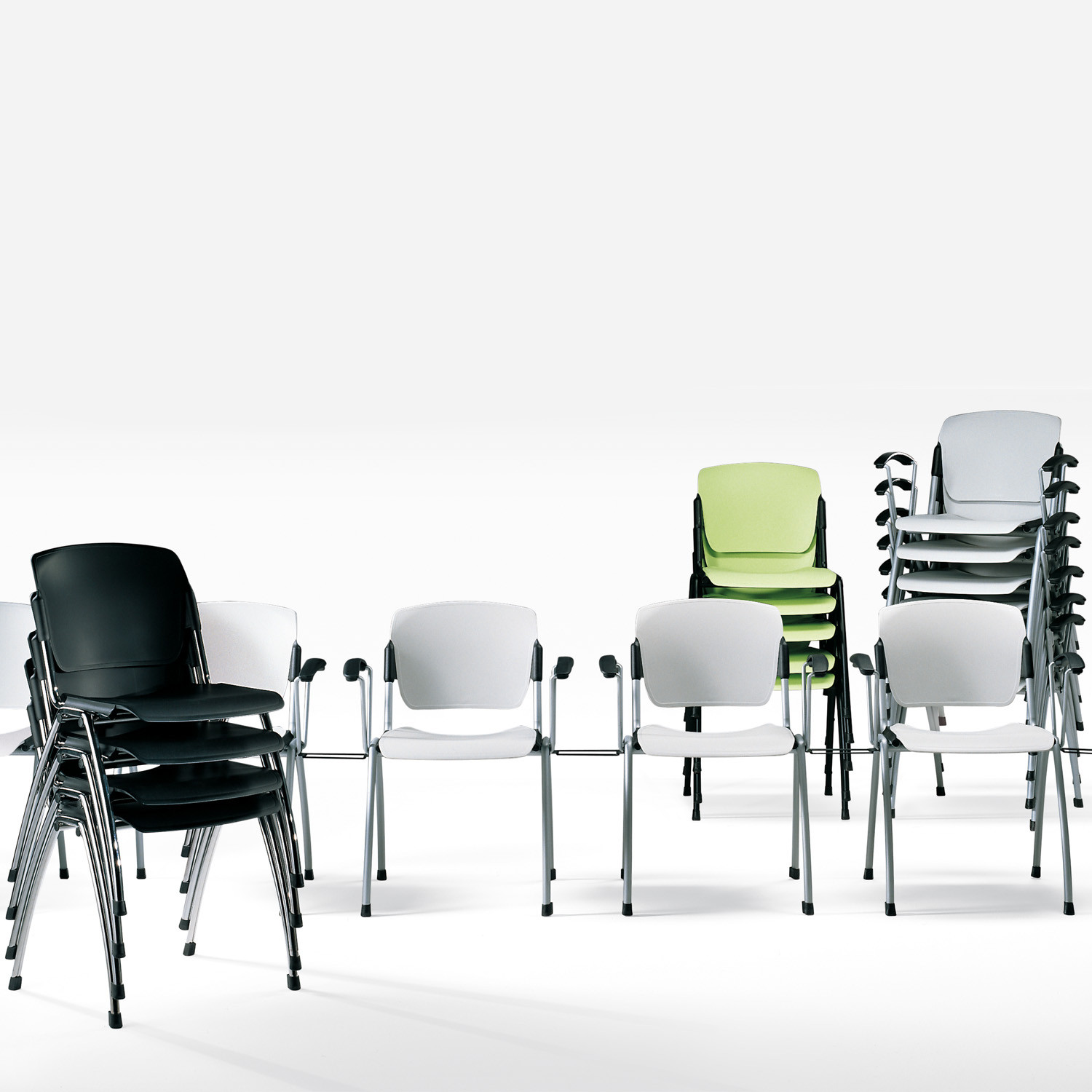Mimi Chair is a Stacking Seating Solution ideal for Training Areas