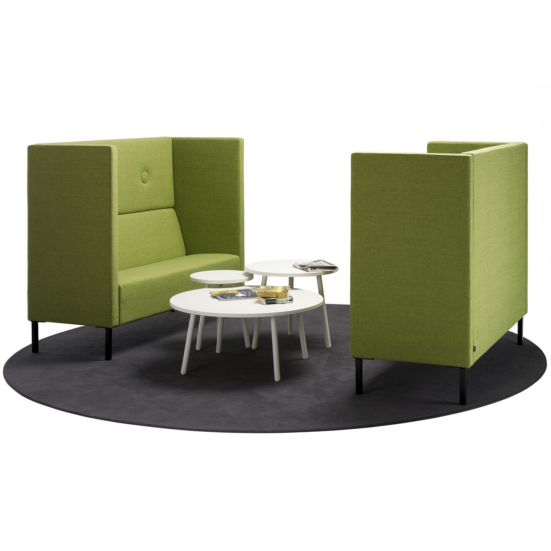 mute high back sofa mute privacy sofa system apres furniture. Black Bedroom Furniture Sets. Home Design Ideas