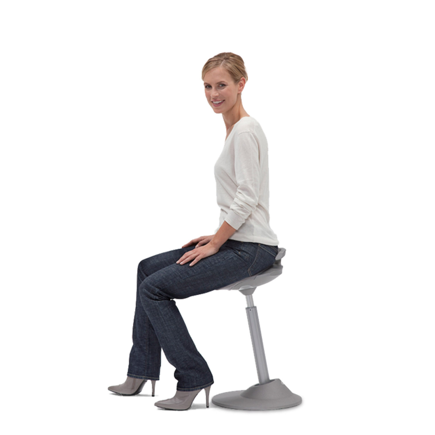 Muvman sit stand stool active seating apres furniture for Sitting chairs