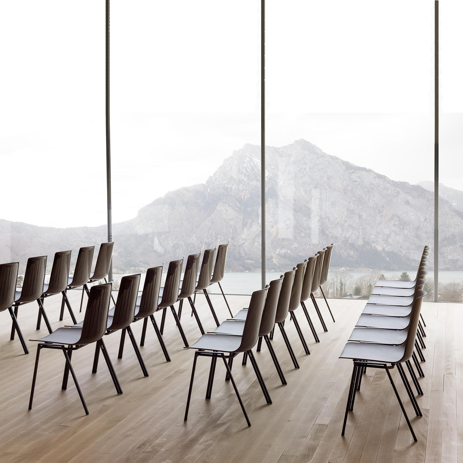Nooi Chairs in Rows