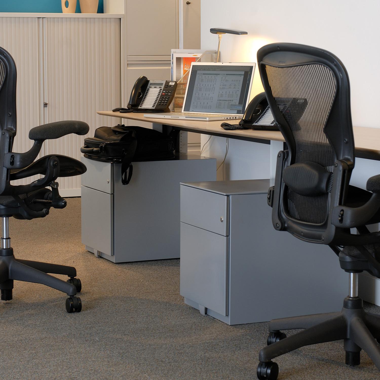 Note Under Desk Pedestals by Bisley