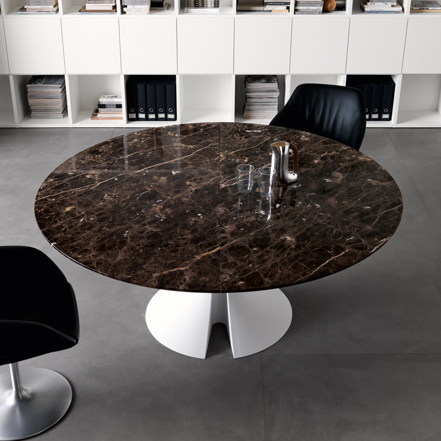 Ola Marble Meeting Table
