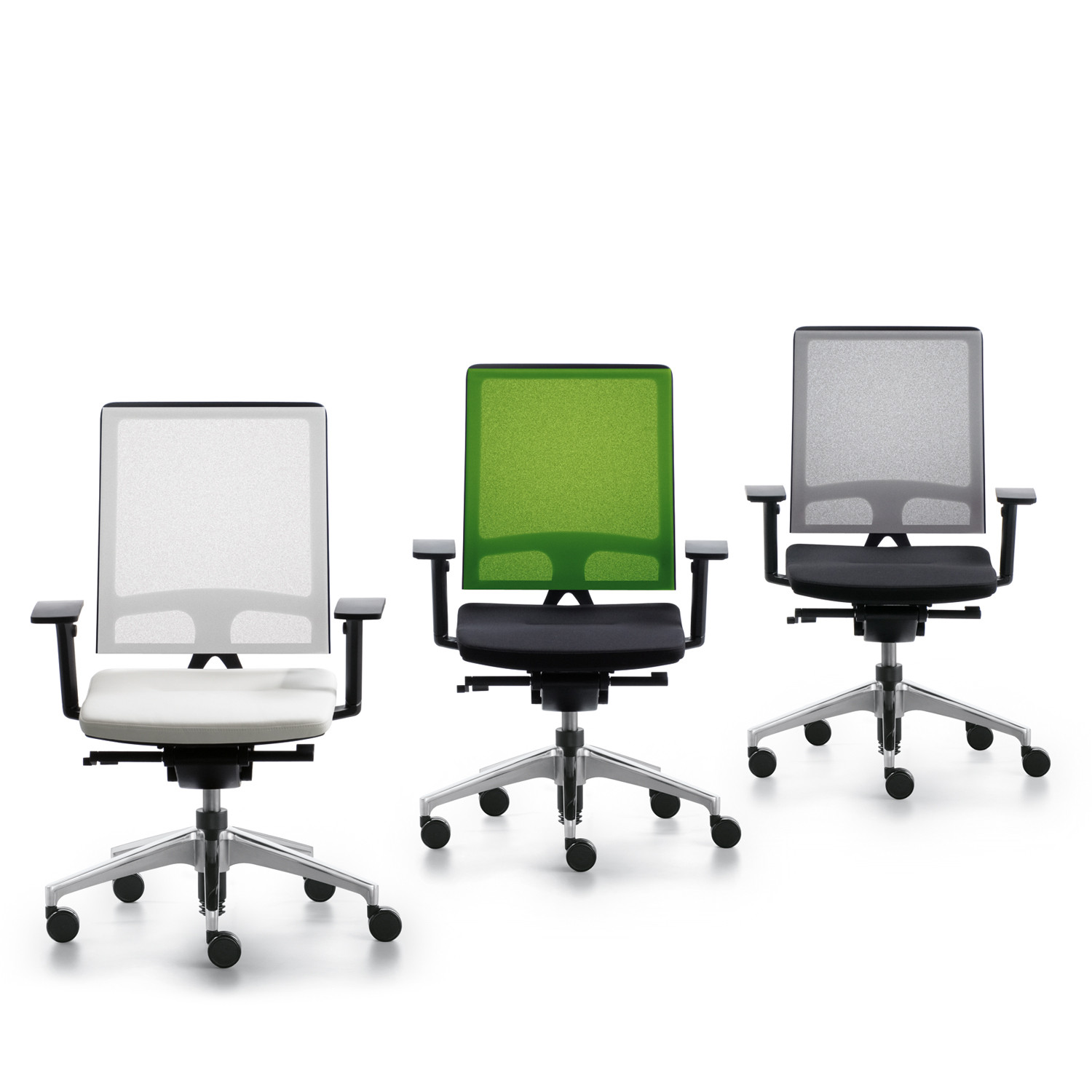 Open Mind Office Chairs Mesh Back Task Chair Apres