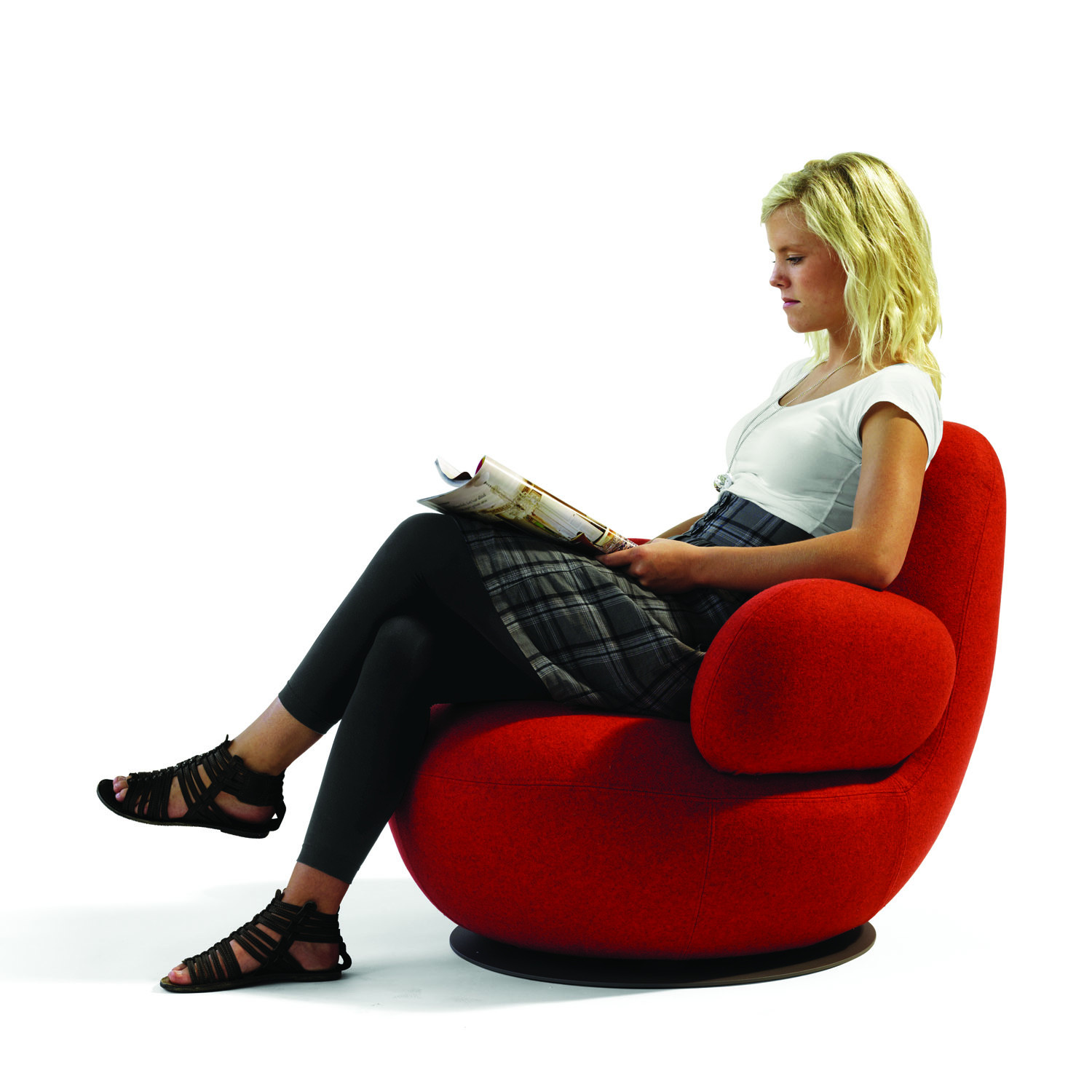 Oppo Swivel Armchair O52A