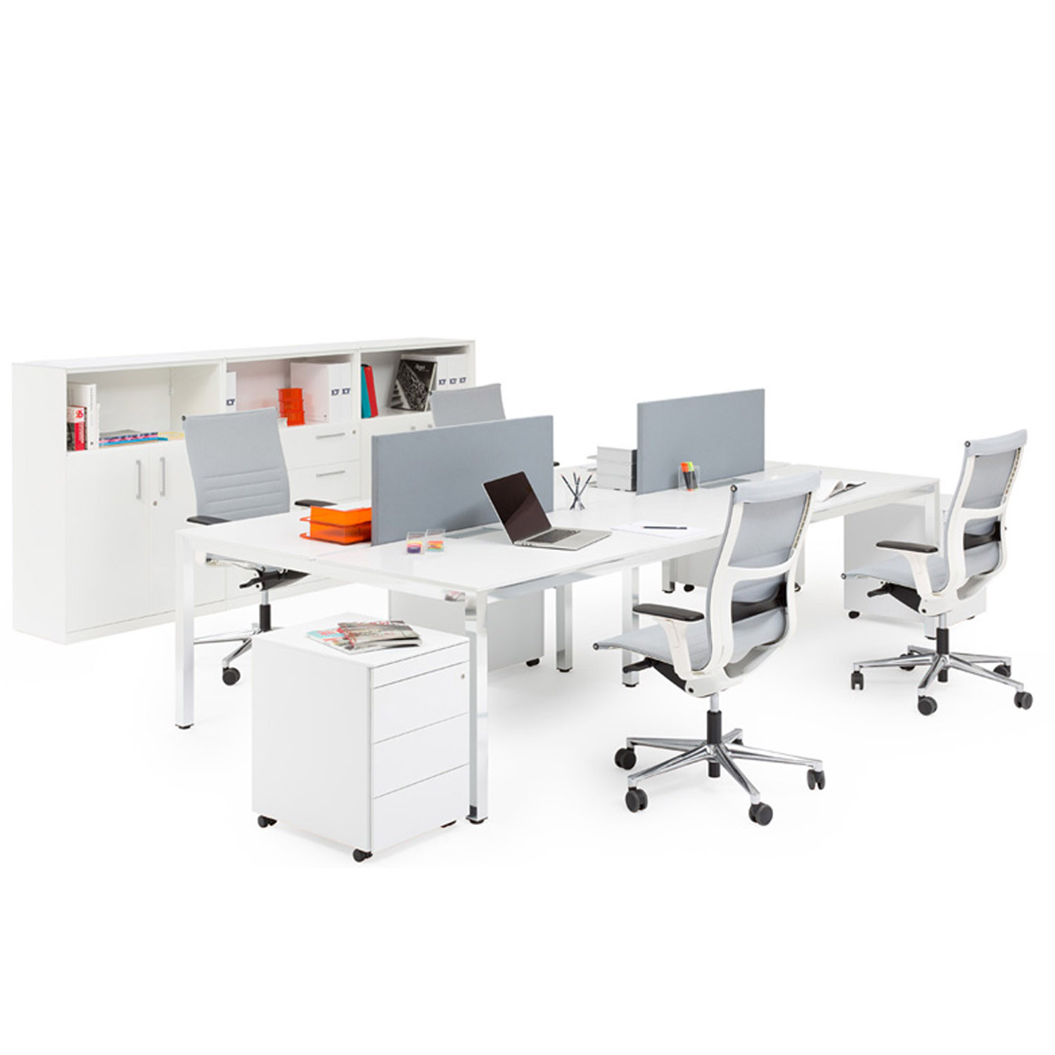 P50 Task System Bench Desks