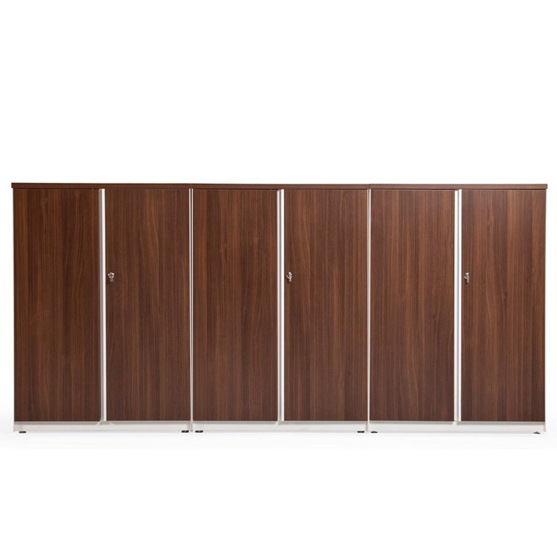 Path Office Storage with Wood Veneer