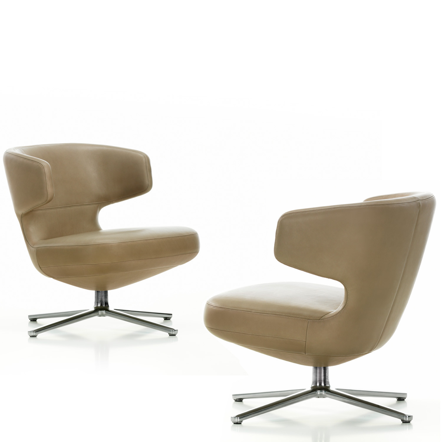 Petit Repos Armchair Vitra Low Lounge Seating Apres