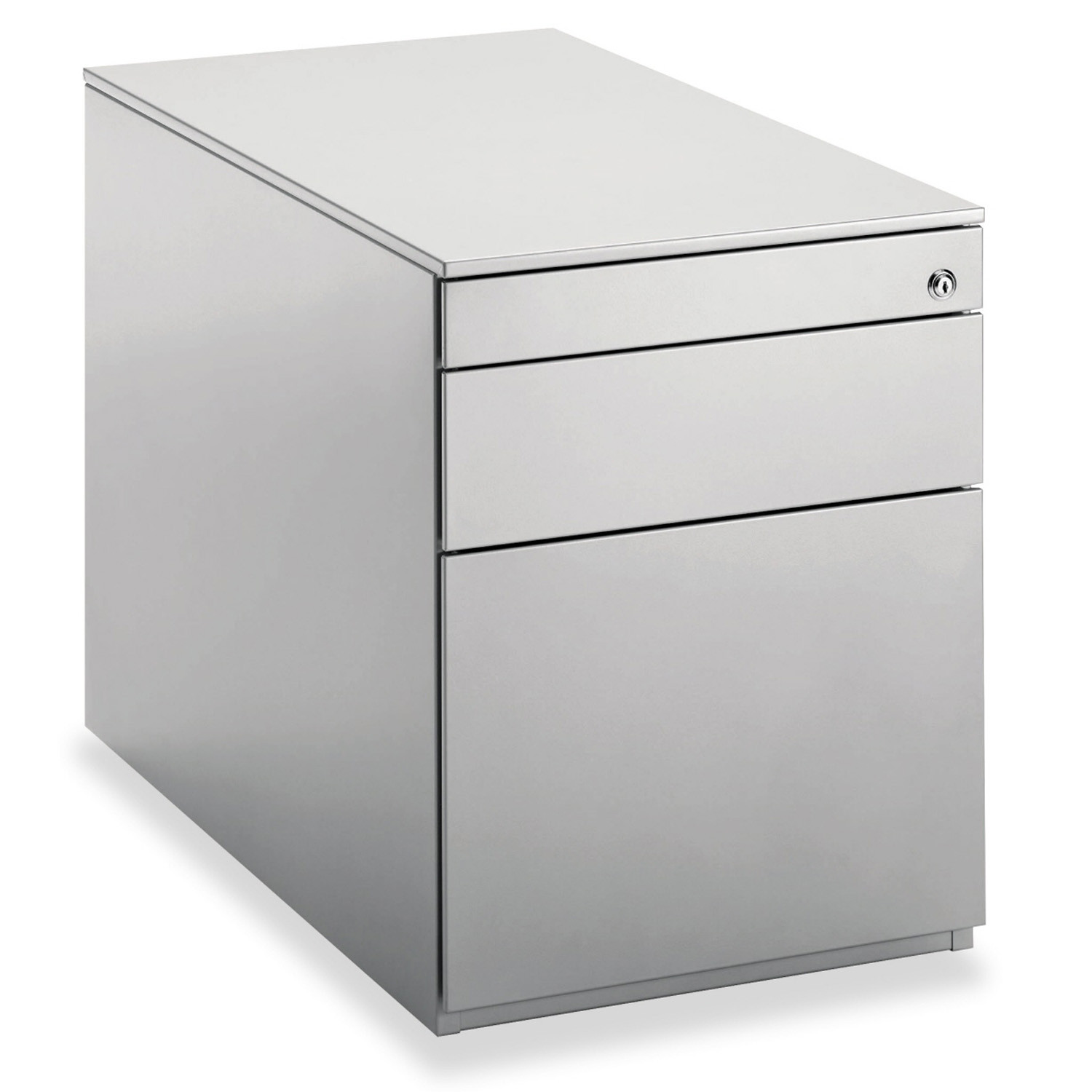 Professional pedestal 1 box drawer + 1 file drawer + 1 stationery drawer