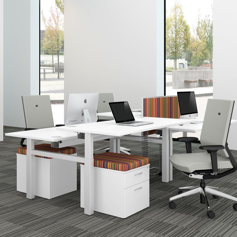 Progress Lite Crank Handle Height Adjustable Desks