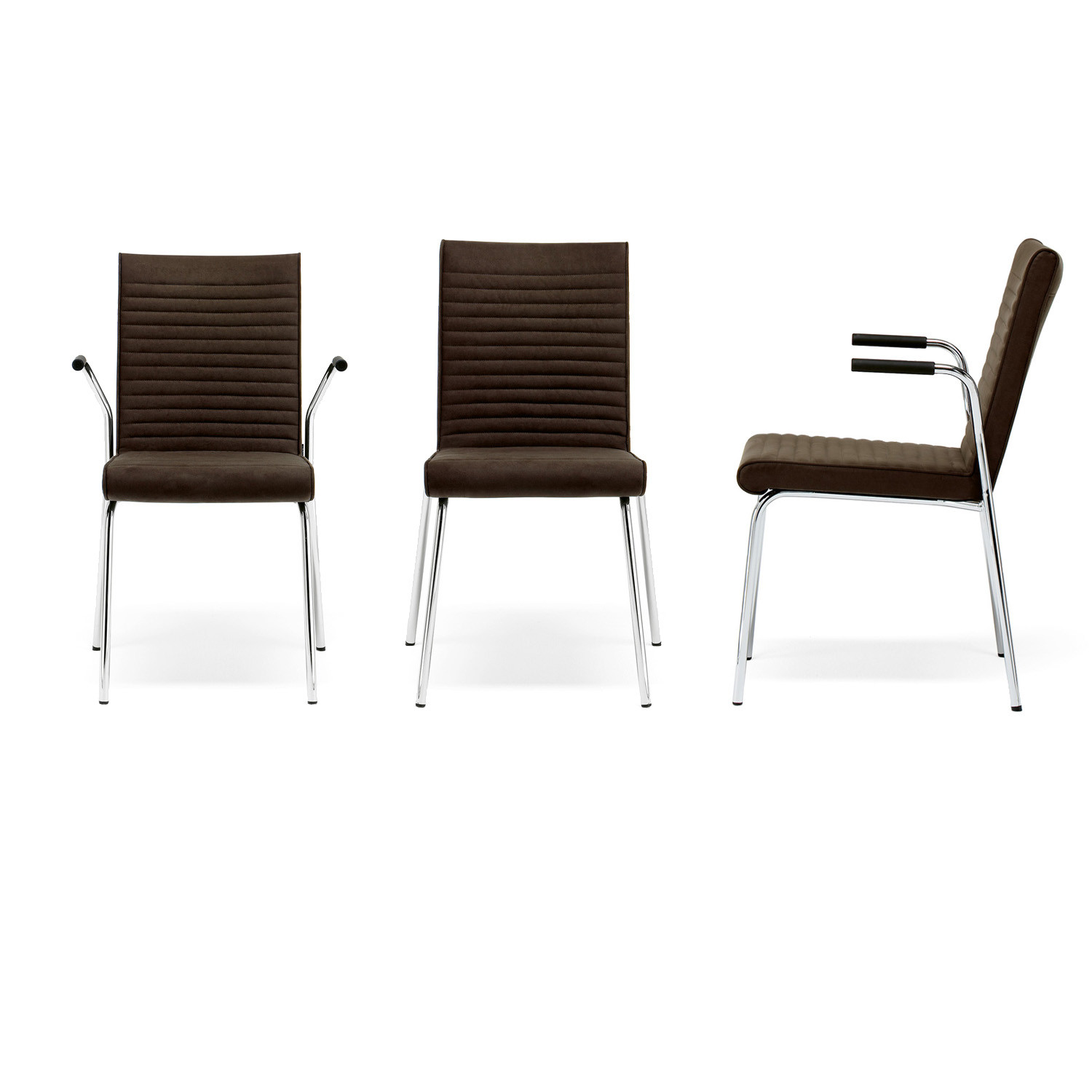Quick Visitor Chair with armrests