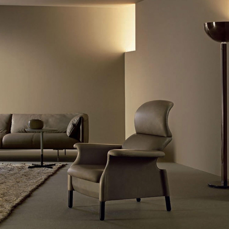 Sanluca Leather Designer Armchair