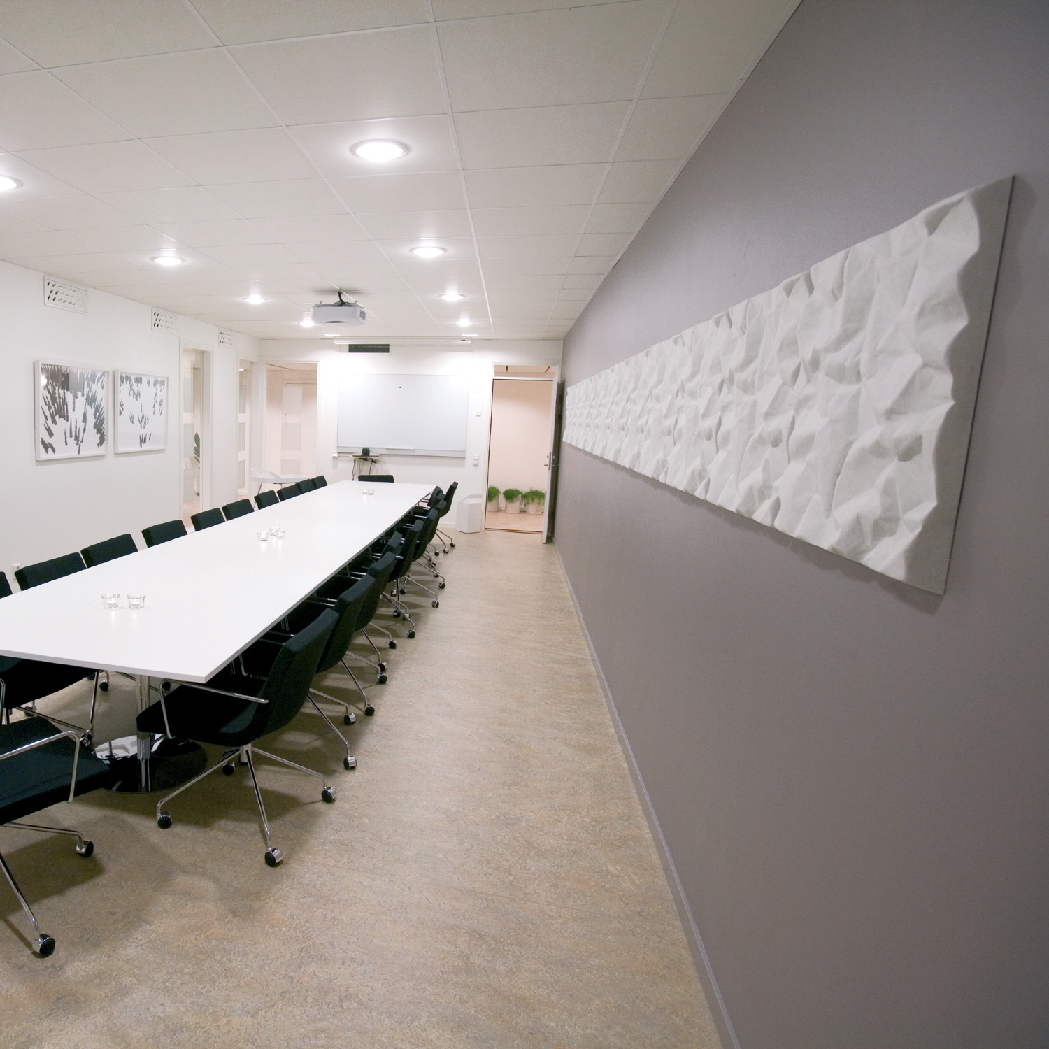 Soundwave Scrunch Acoustic Wall Panels