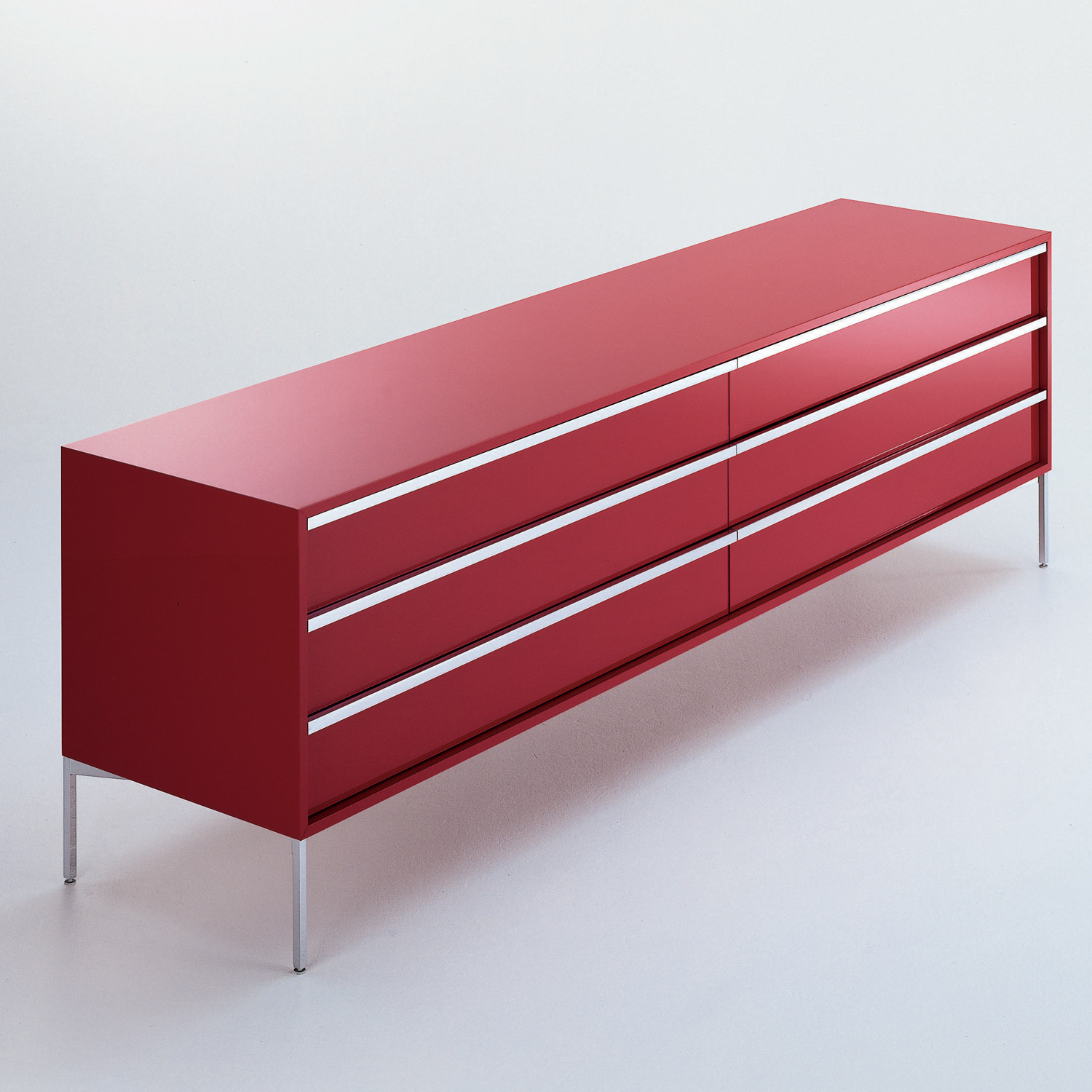 Fattorini Sideboard in Red Finish