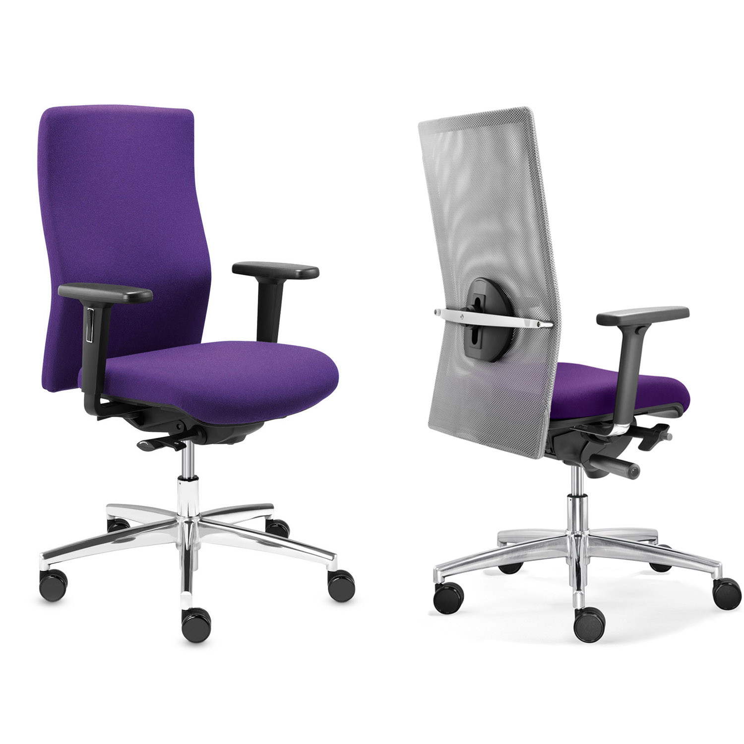 Sim-O Office Chairs - Mesh or Upholstered