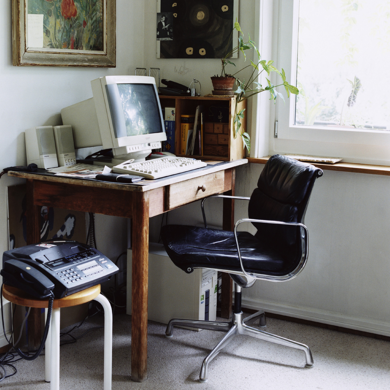 or eames furniture to milo with knock home your off desk retro baughman style chair add gallery design lounge ideas office