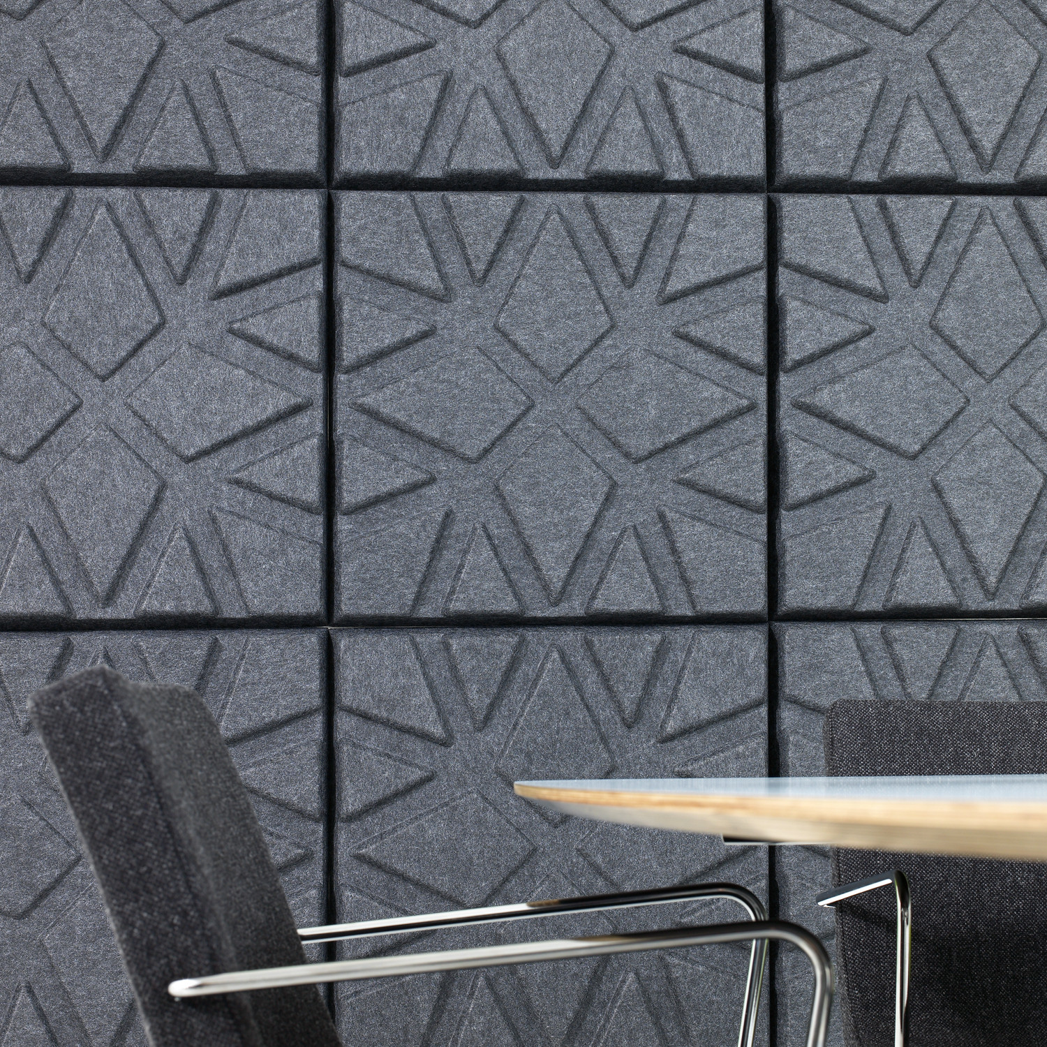 Soundwave Geo Acoustic Wall Panels