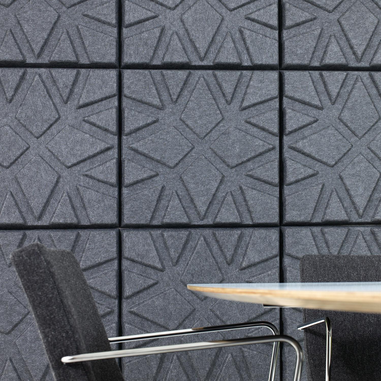 Soundwave Geo Acoustic Wall Panels