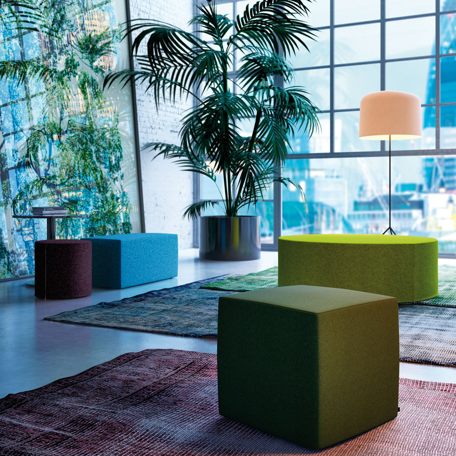 Sinetica Spot Office Poufs