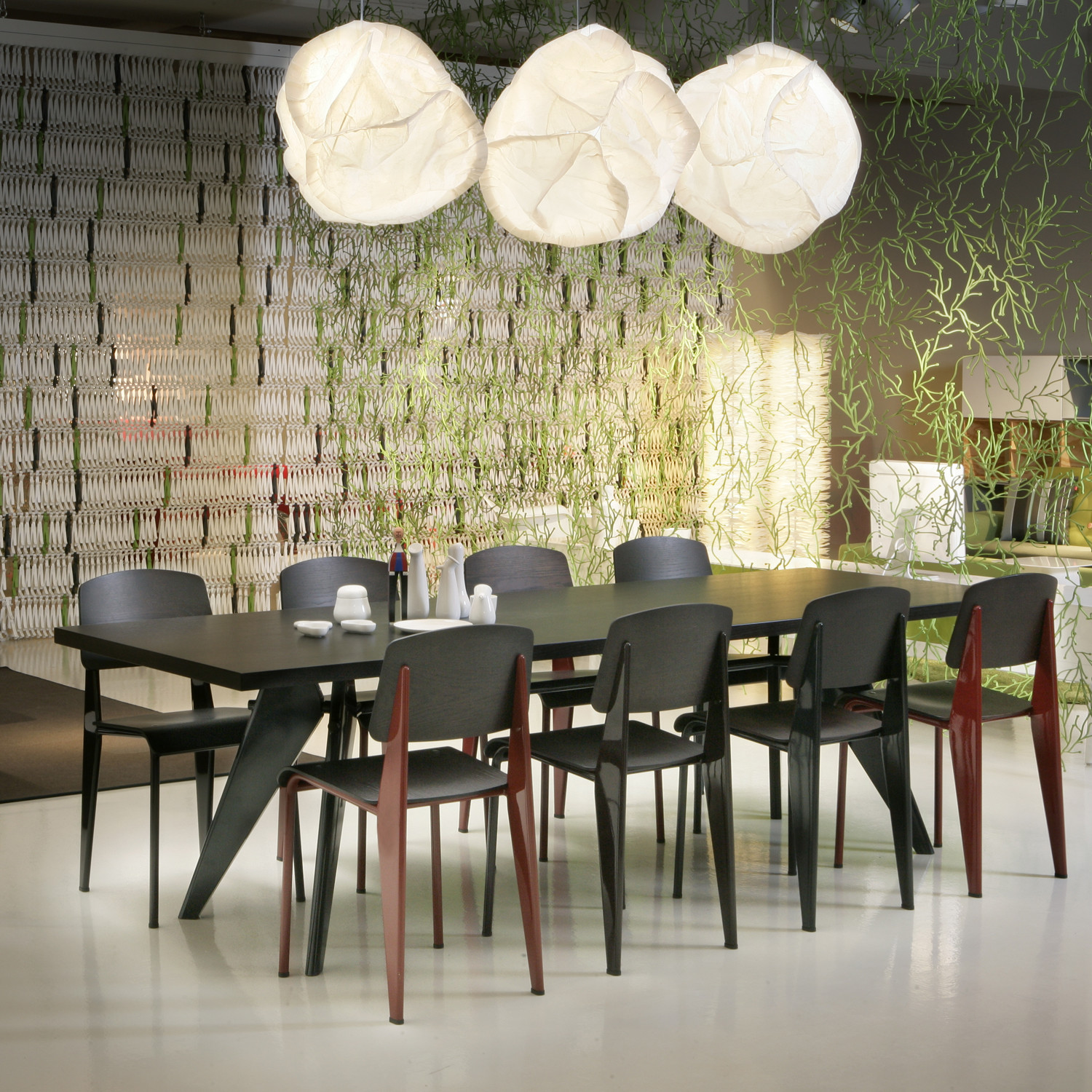 vitra standard chairs by jean prouve vitra dining chairs