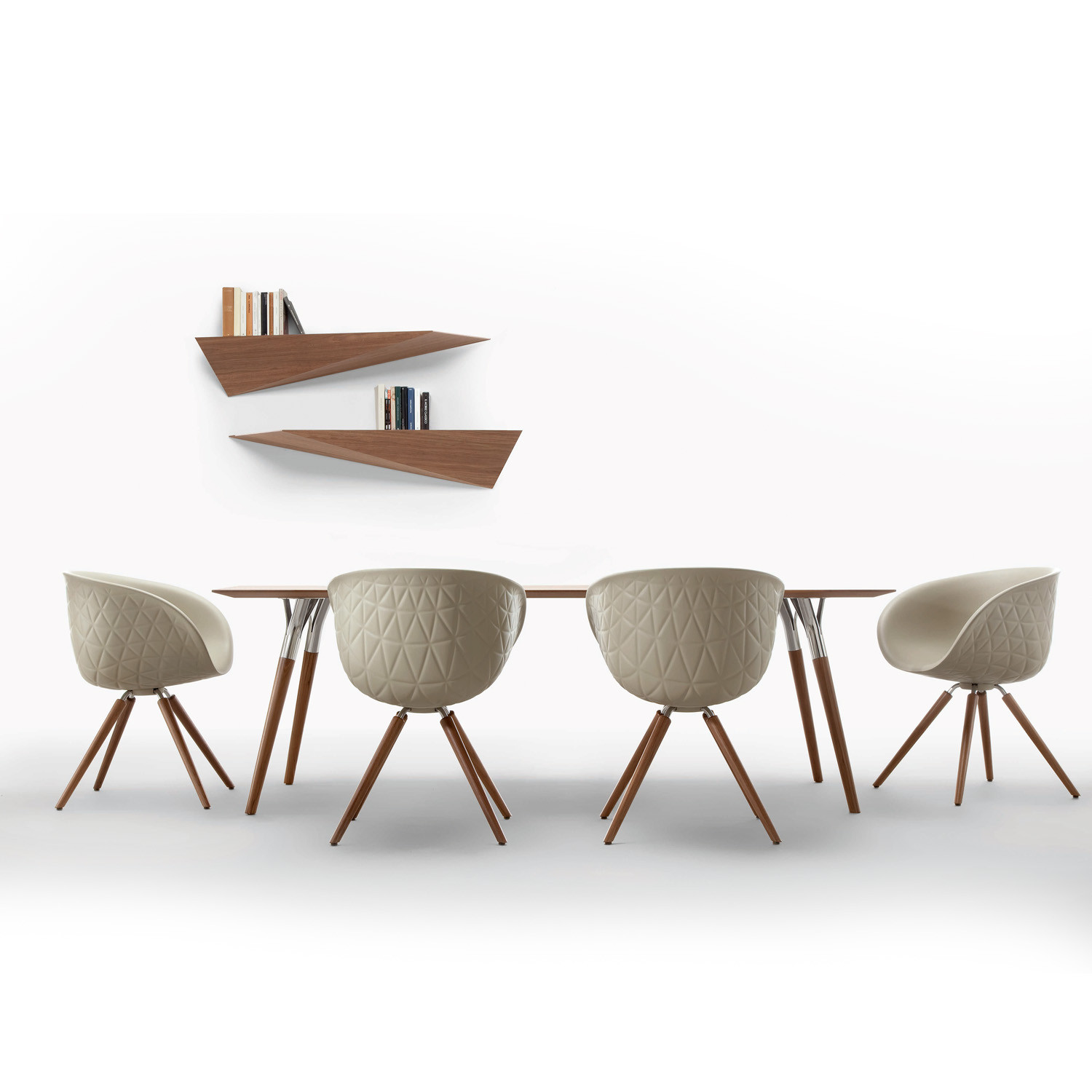 Structure Wood Chairs by Tonon